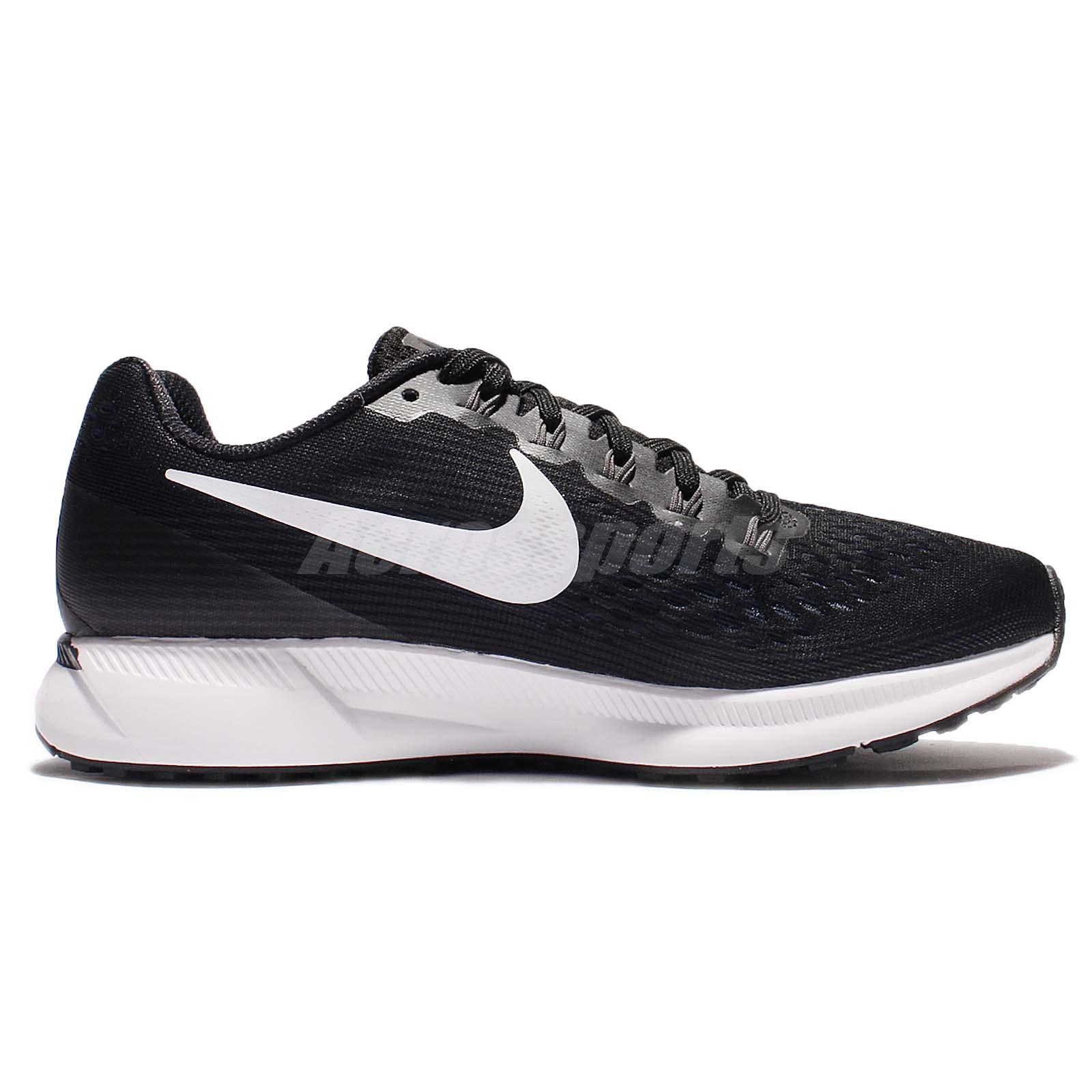 4cf373c7ccd5c Nike Wmns Air Zoom Pegasus 34 Black White Women Running Shoe Sneaker ...