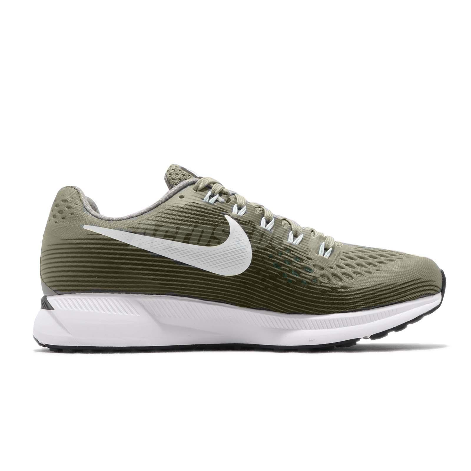 0d471eba8e9a Nike Wmns Air Zoom Pegasus 34 Dark Stucco Green Women Running Shoes ...