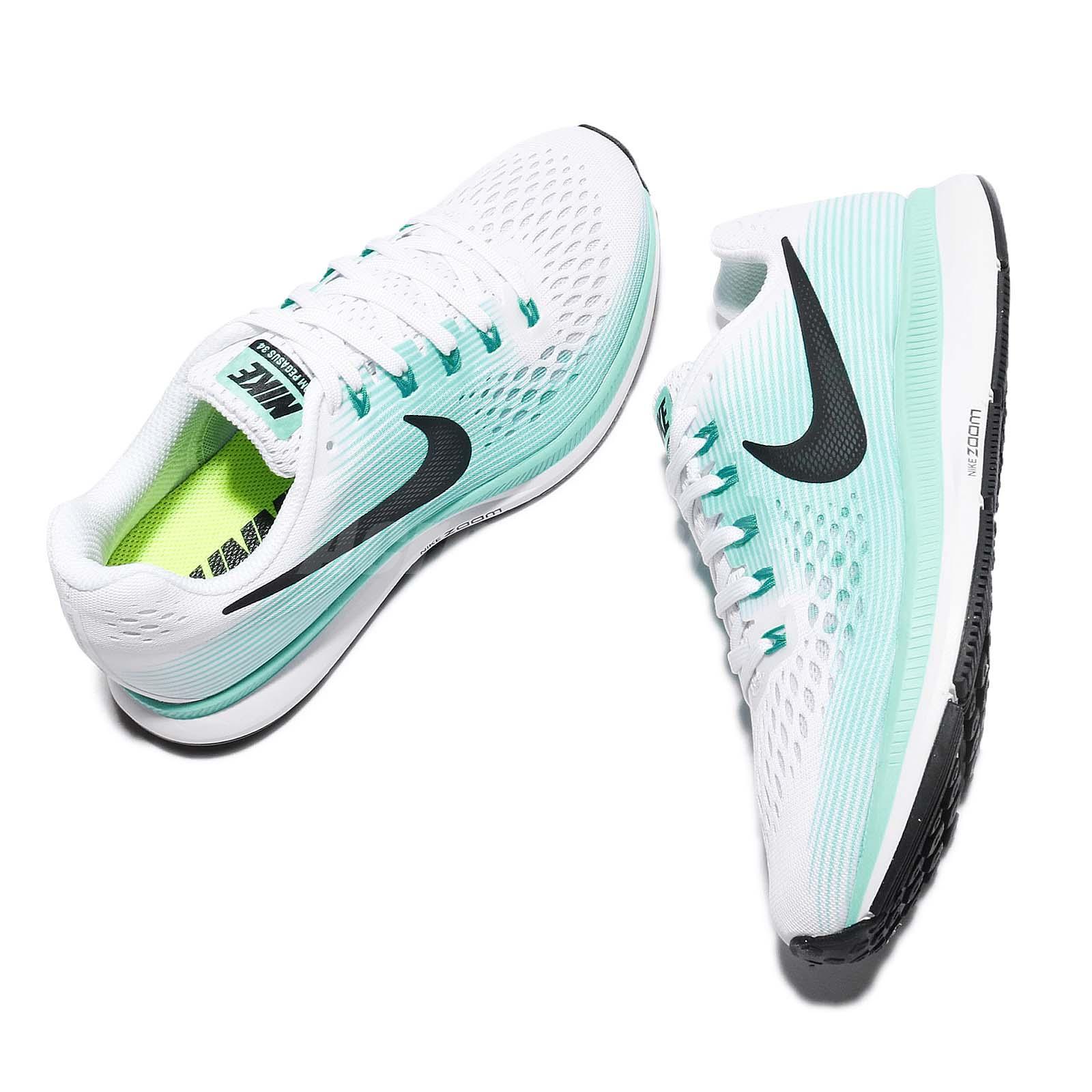 Nike Zoom Air Pegasus 34 Mujeres Verde Aurora EmIiDNCt