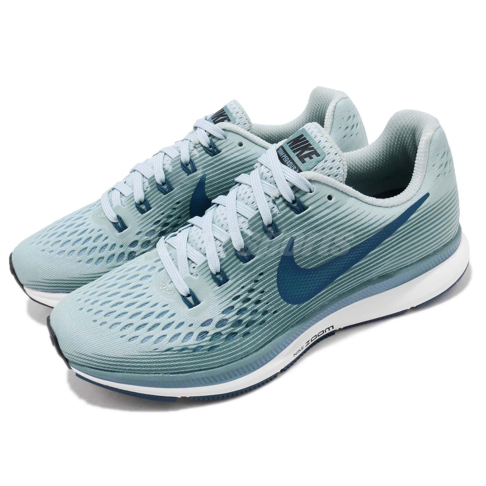 6e22c7ddfbc9 Details about Nike Wmns Air Zoom Pegasus 34 Ocean Bliss Blue Women Running  Shoes 880560-408