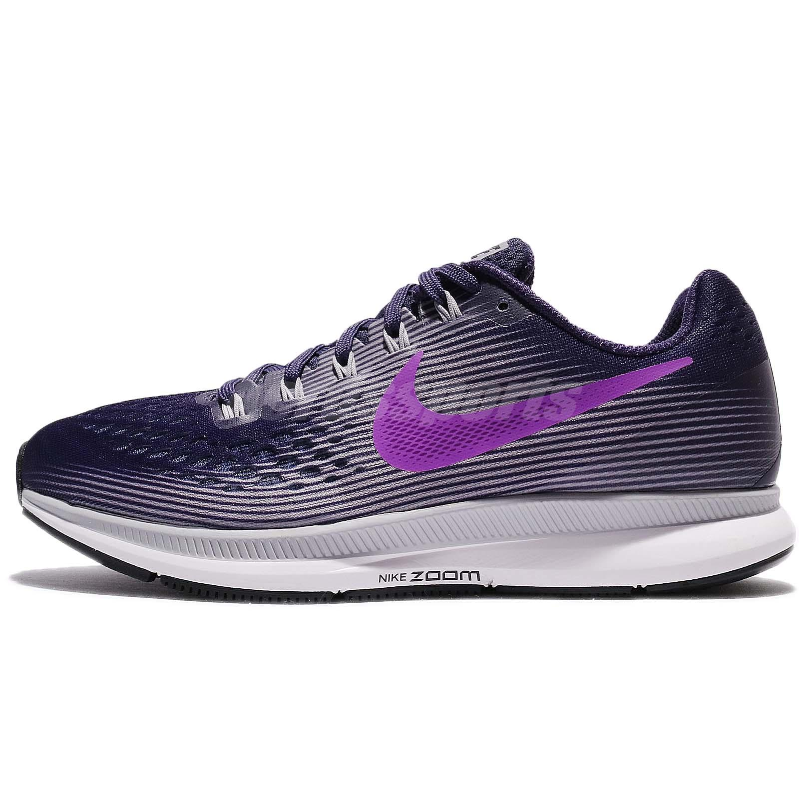9775395e2ef Wmns Nike Air Zoom Pegasus 34 Ink Hyper Violet Women Running Shoes 880560- 500