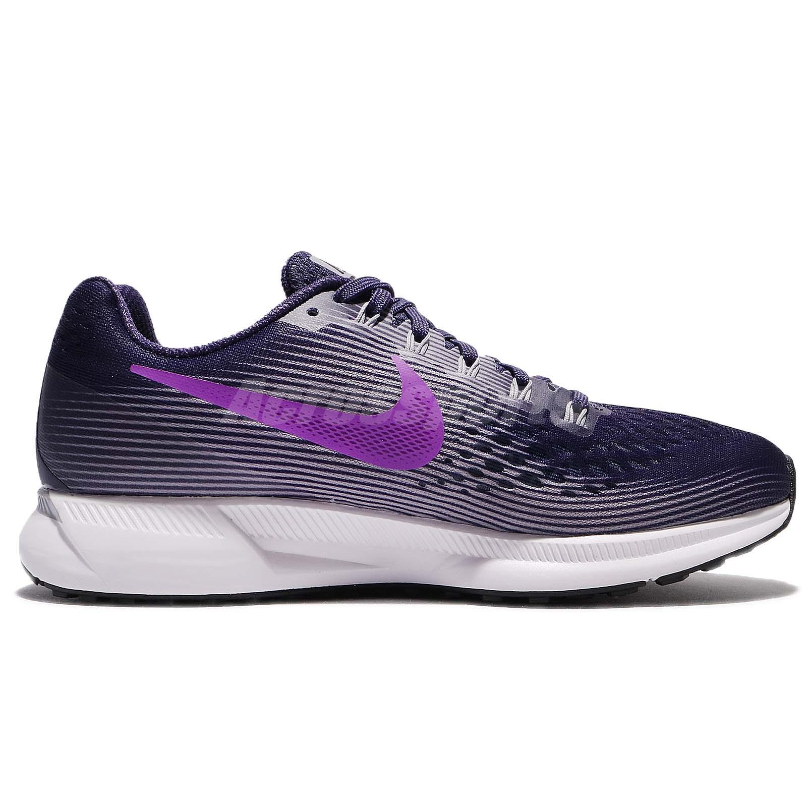 b32aa0b8b94 Wmns Nike Air Zoom Pegasus 34 Ink Hyper Violet Women Running Shoes ...