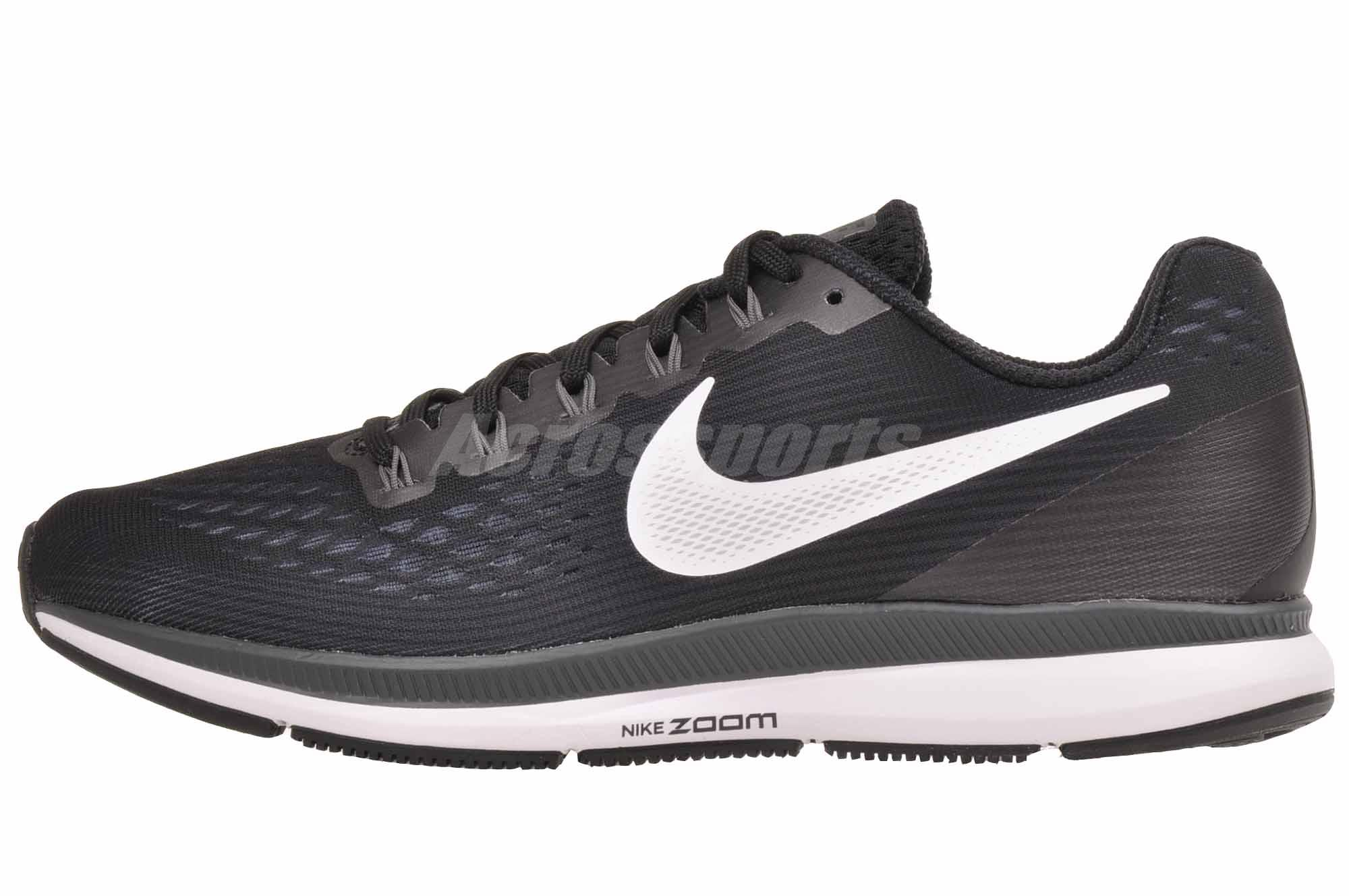 Details about Nike W Air Zoom Pegasus 34 Running Womens Shoes Black (Wide) 880561 001