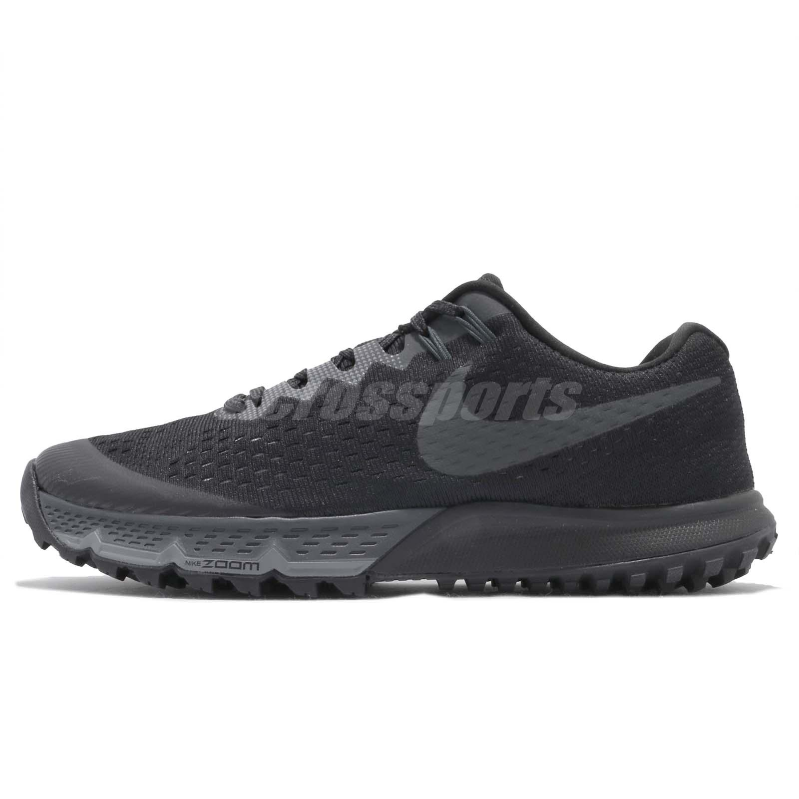 b35528021f3 Nike Air Zoom Terra Kiger 4 IV Black Men Trail Running Shoes Sneakers 880563 -010