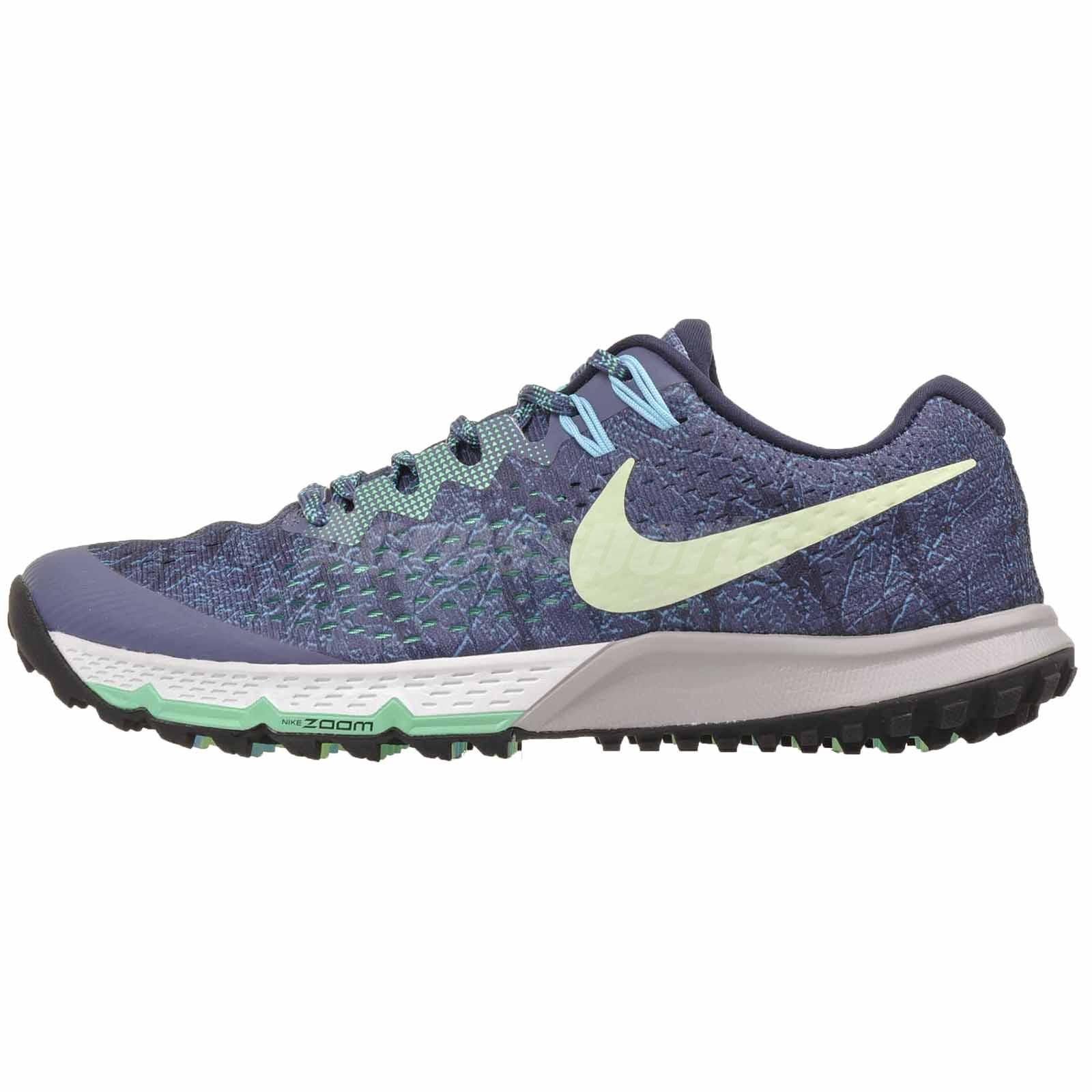 new style 2726e ef09f Details about Nike W Air Zoom Terra Kiger 4 Cross Training Womens Shoes  Blue 880564-400