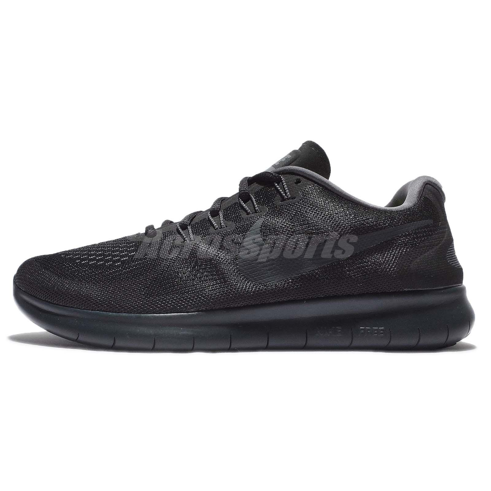 1a9a5c9132c77 Nike Free RN 2017 Run Black Anthracite Men Running Shoes Sneakers 880839-003