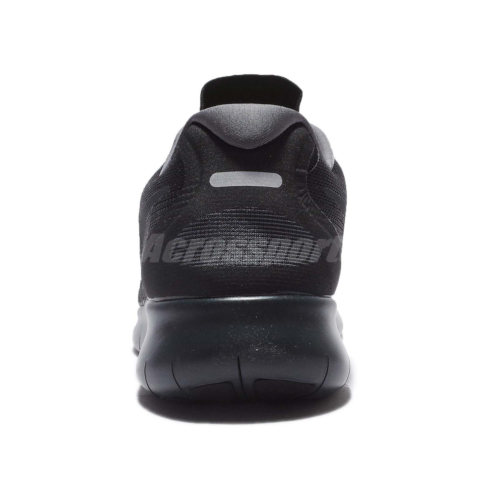 c7ac6ee5e1c62 Nike Free RN 2017 Run Black Anthracite Men Running Shoes Sneakers ...