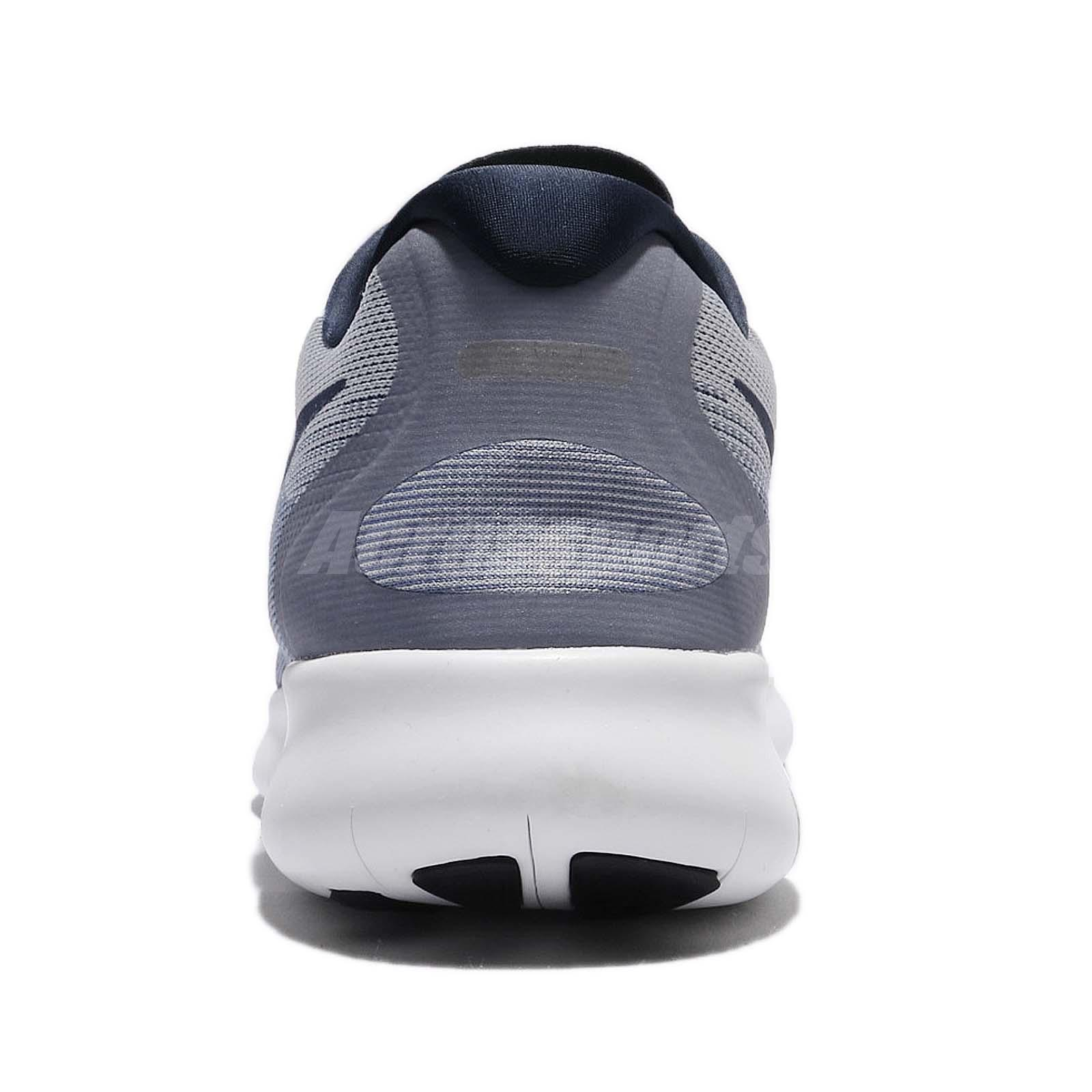 960059241d8 Nike Free RN 2017 Run Wolf Grey Blue Men Running Shoes Trainers ...