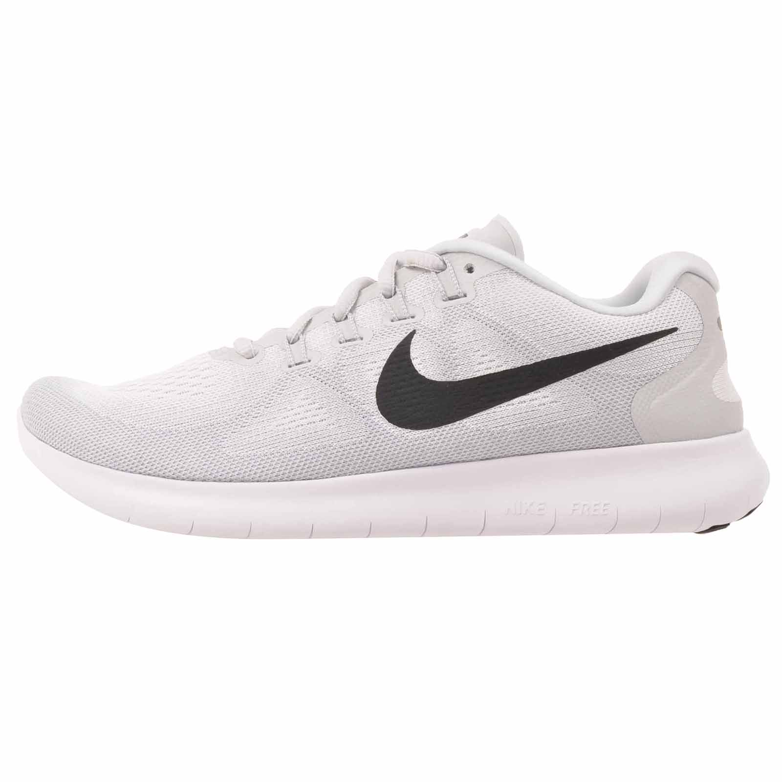 Details about Nike Free RN 2017 Running Mens Shoes White Pure Platinum 880839 101