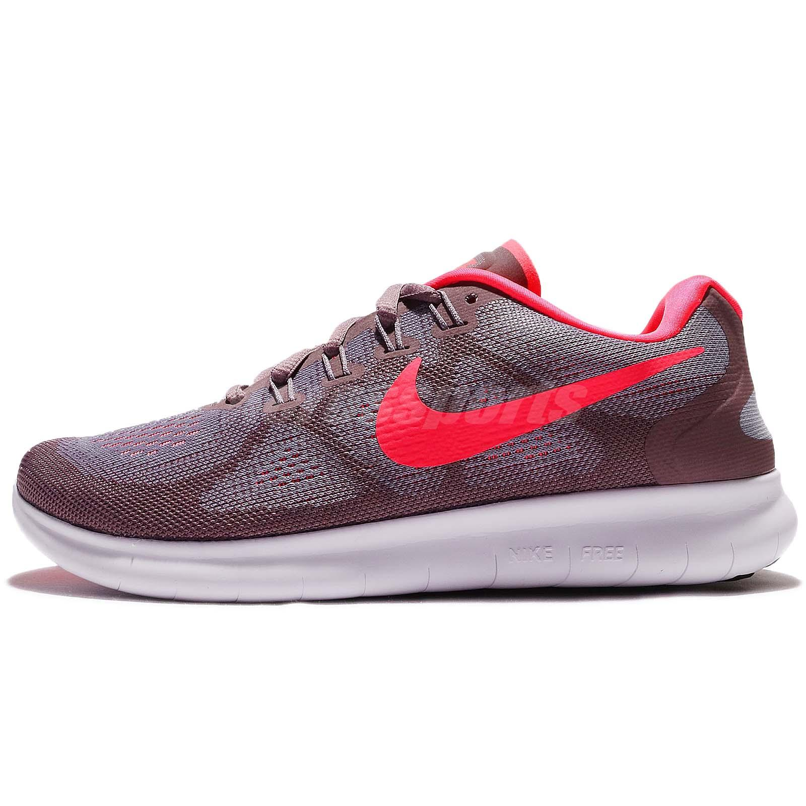 the latest fea71 cbc22 Details about Wmns Nike Free RN 2017 Run Purple Hot Punch Women Running  Shoes 880840-501