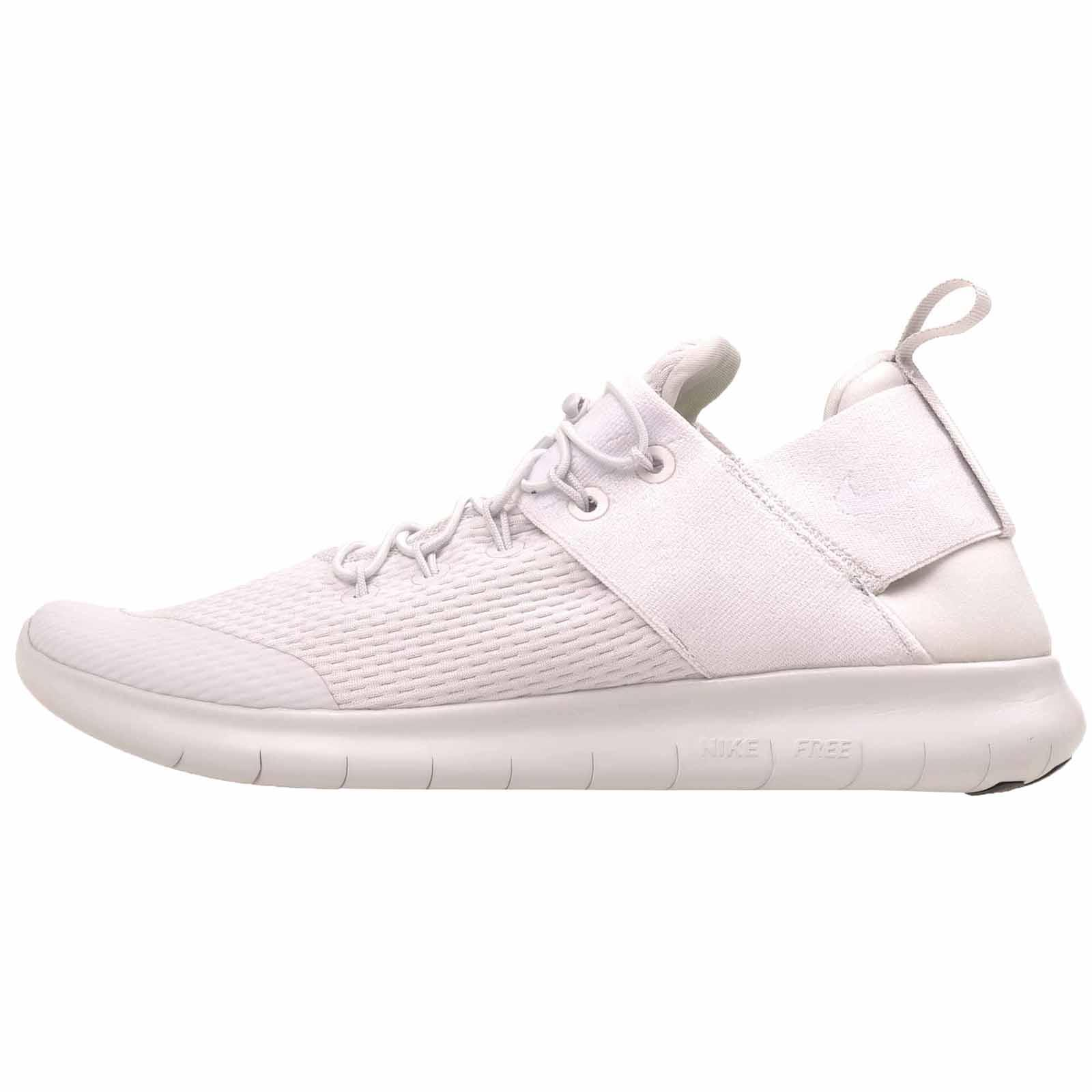 1aca6d7663f2f Nike Free Rn Commuter 2017 Running Mens Shoes White Grey 880841-007(actual  shoes more gray than white)