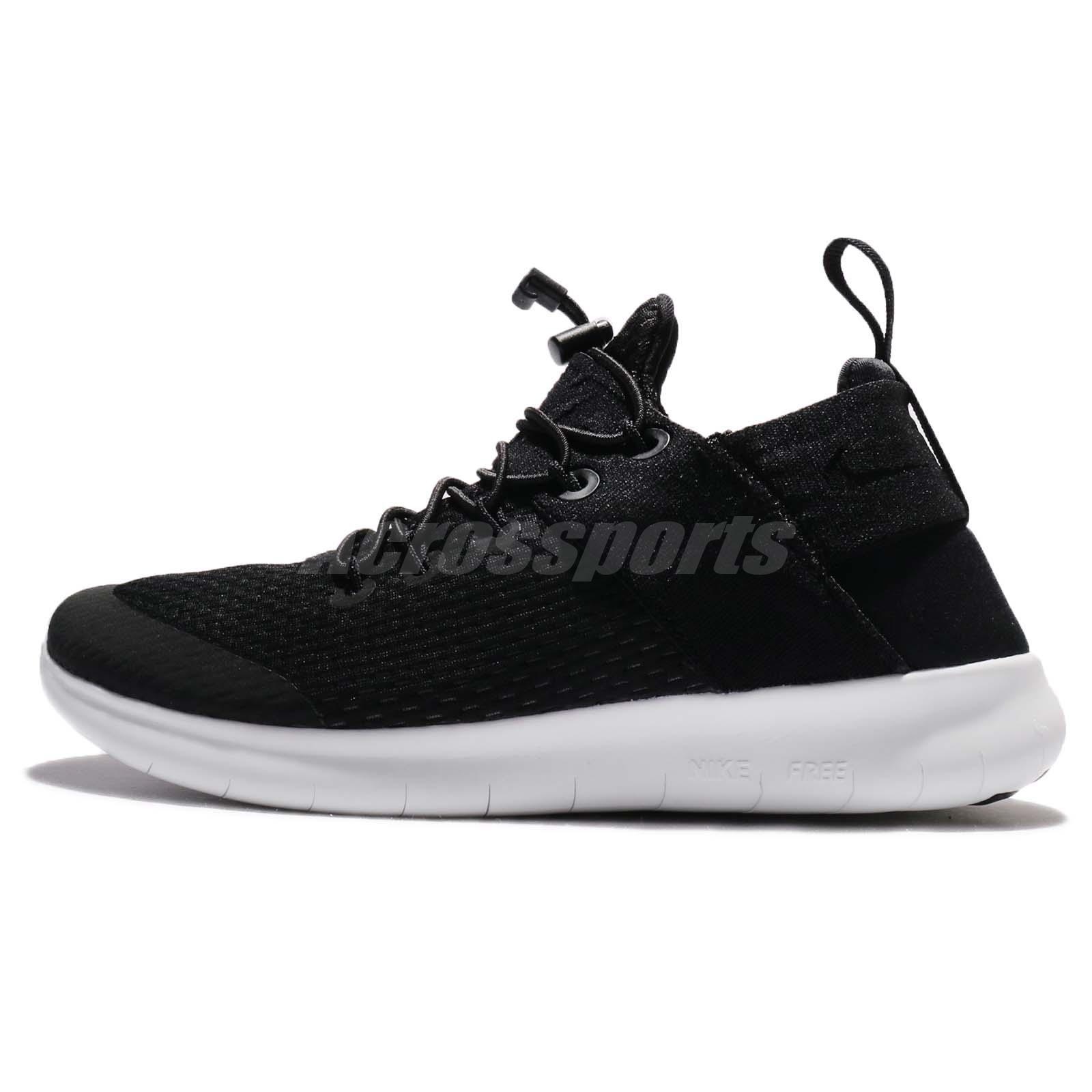 NIKE Womens Nike Free Rn Running Cmtr 2017 880842-003 BLACK Size 9.5