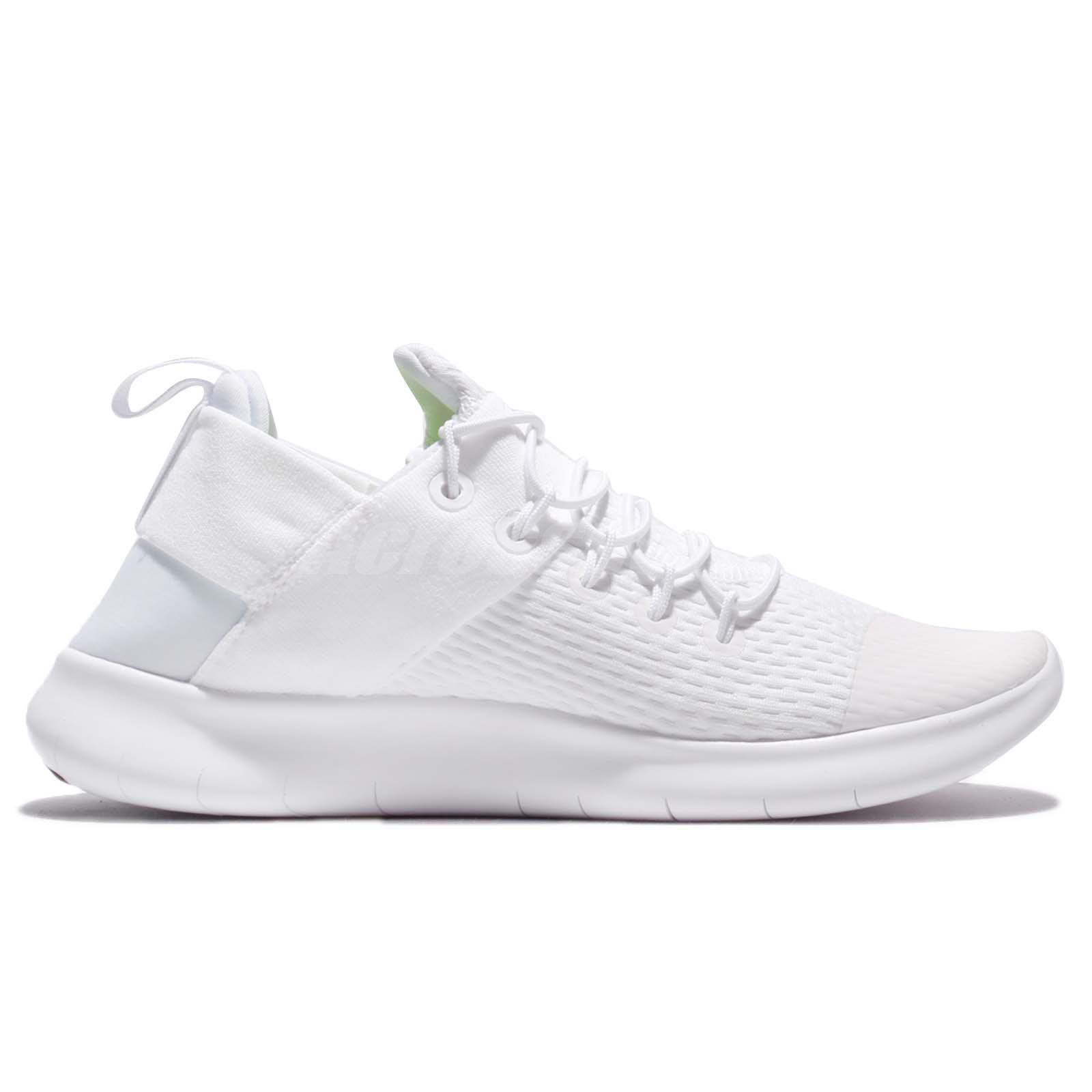 445cd93706004 Wmns Nike Free RN CMTR 2017 Triple White Women Running Shoes ...