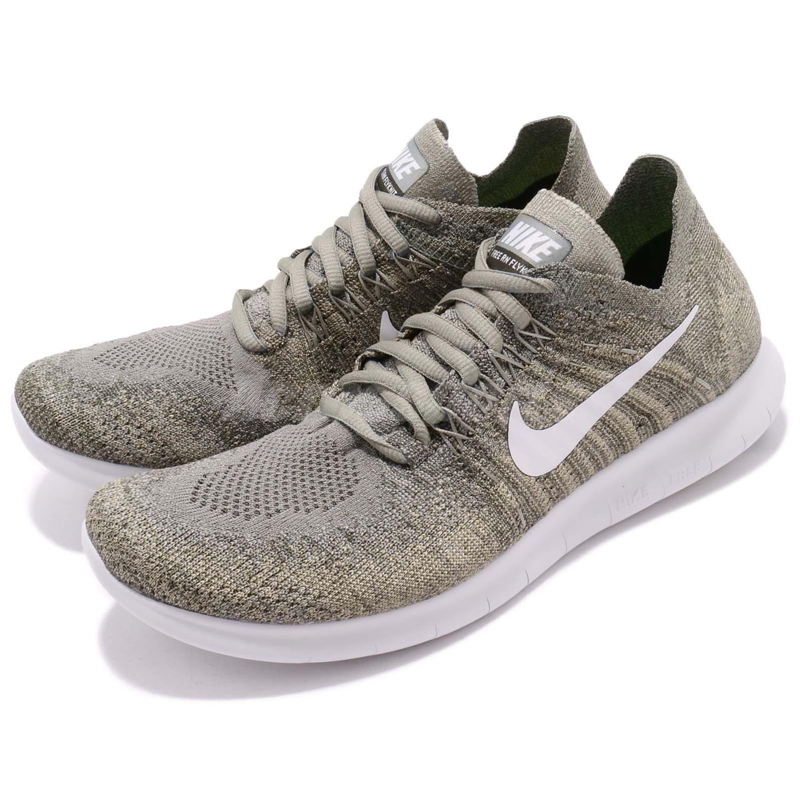 5667c57e2898 Details about Wmns Nike Free RN Flyknit 2017 Dark Stucco Grey Women Running  Shoes 880844-008