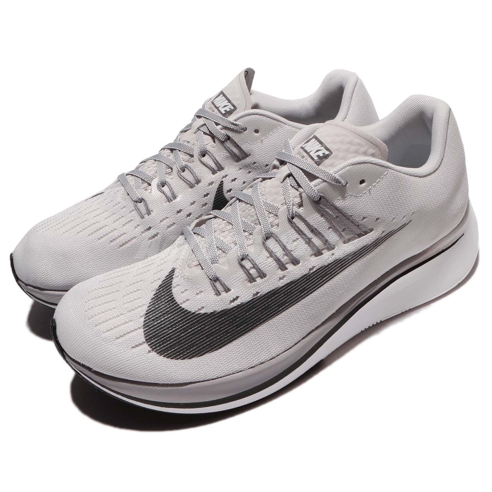 01d53190da69 Details about Nike Zoom Fly Vast Grey Anthracite Men Running Shoes Sneakers  Trainer 880848-002