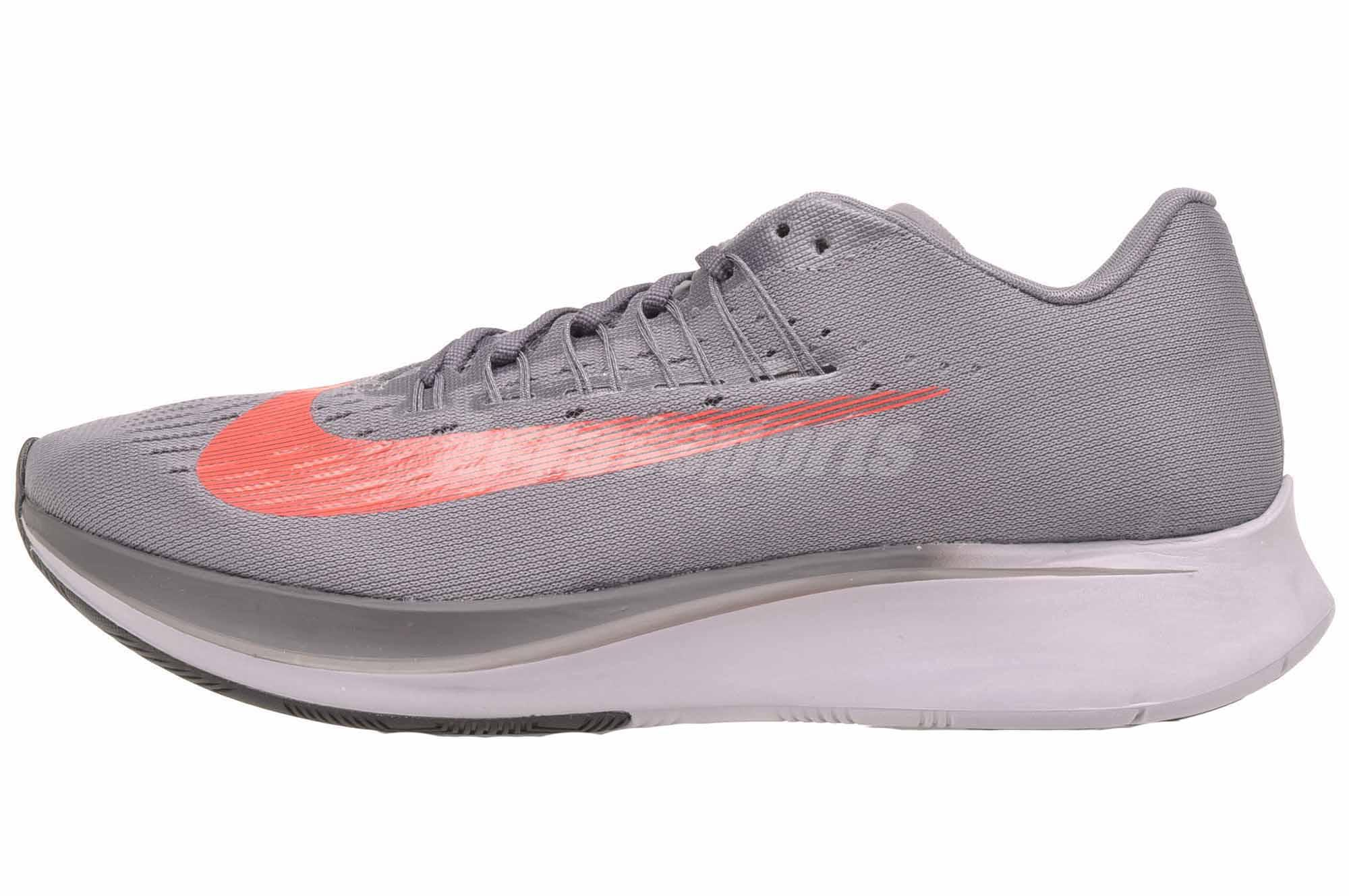reputable site 6d78f 1ee9c Details about Nike Zoom Fly Running Mens Gunsmoke Bright Crimson Shoes  880848-004
