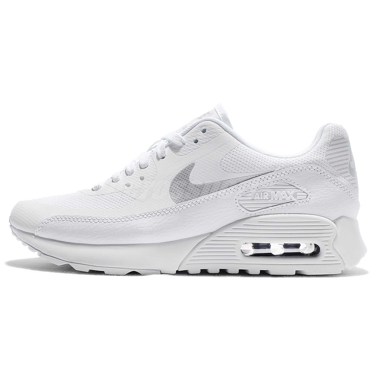671af72873 ... Wmns Nike Air Max 90 Ultra 2.0 White Silver Women Running Shoes  881106-101 ...