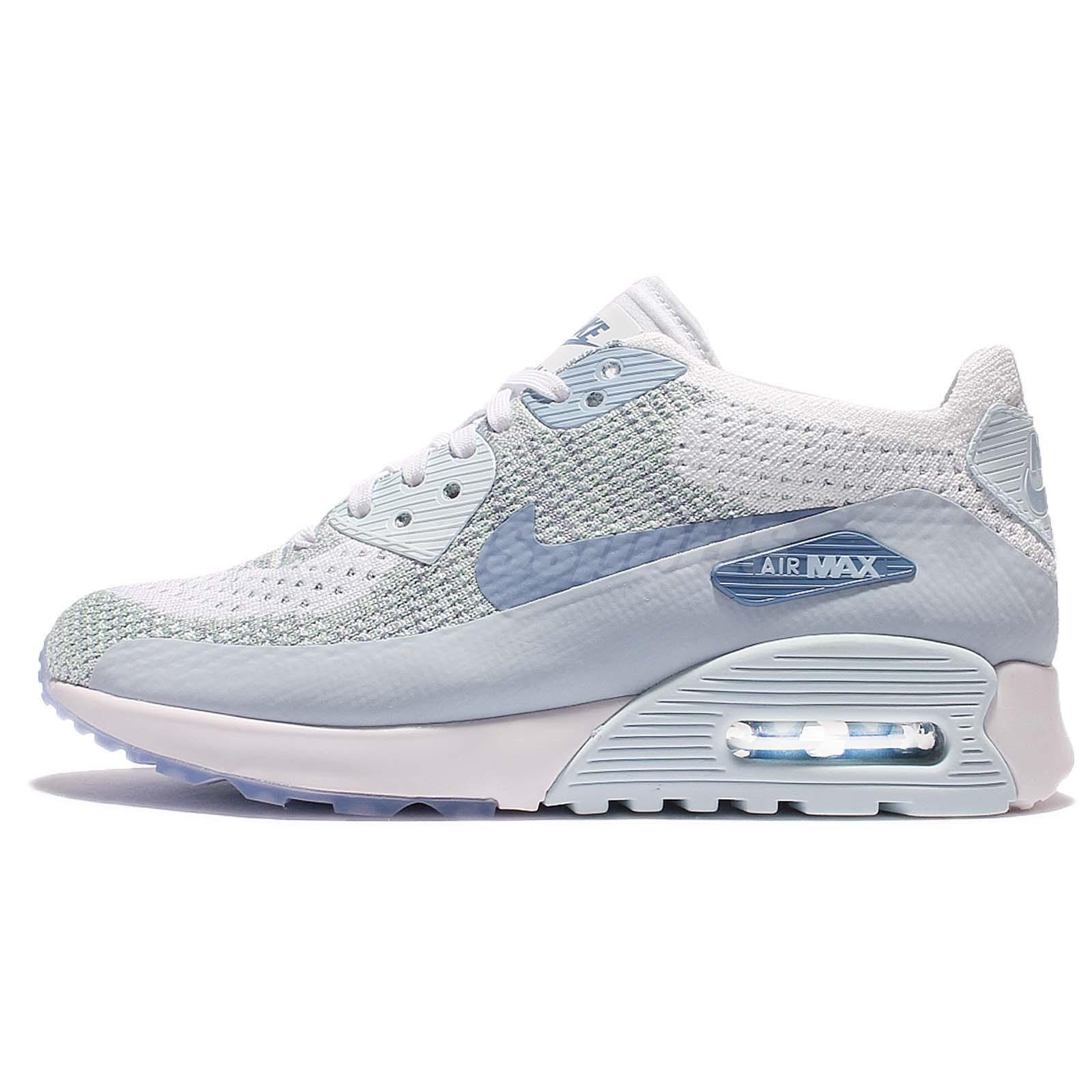 Wmns Nike Air Max 90 Ultra 2.0 Flyknit Women Casual Running Shoes NSW  881109-105
