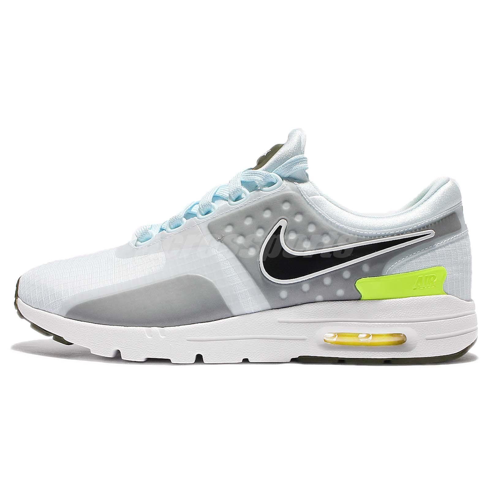 super cute 3a5a2 3cc35 Wmns Nike Air Max Zero SI 0 Blue Grey Women Running Shoes Sneakers 881173 -400