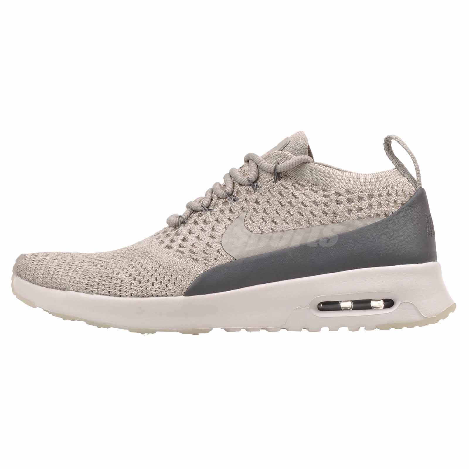 4a9e2b56b3dba Details about Nike W Nike Air Max Thea Ultra FK Running Womens Shoes Pale  Grey 881175-005