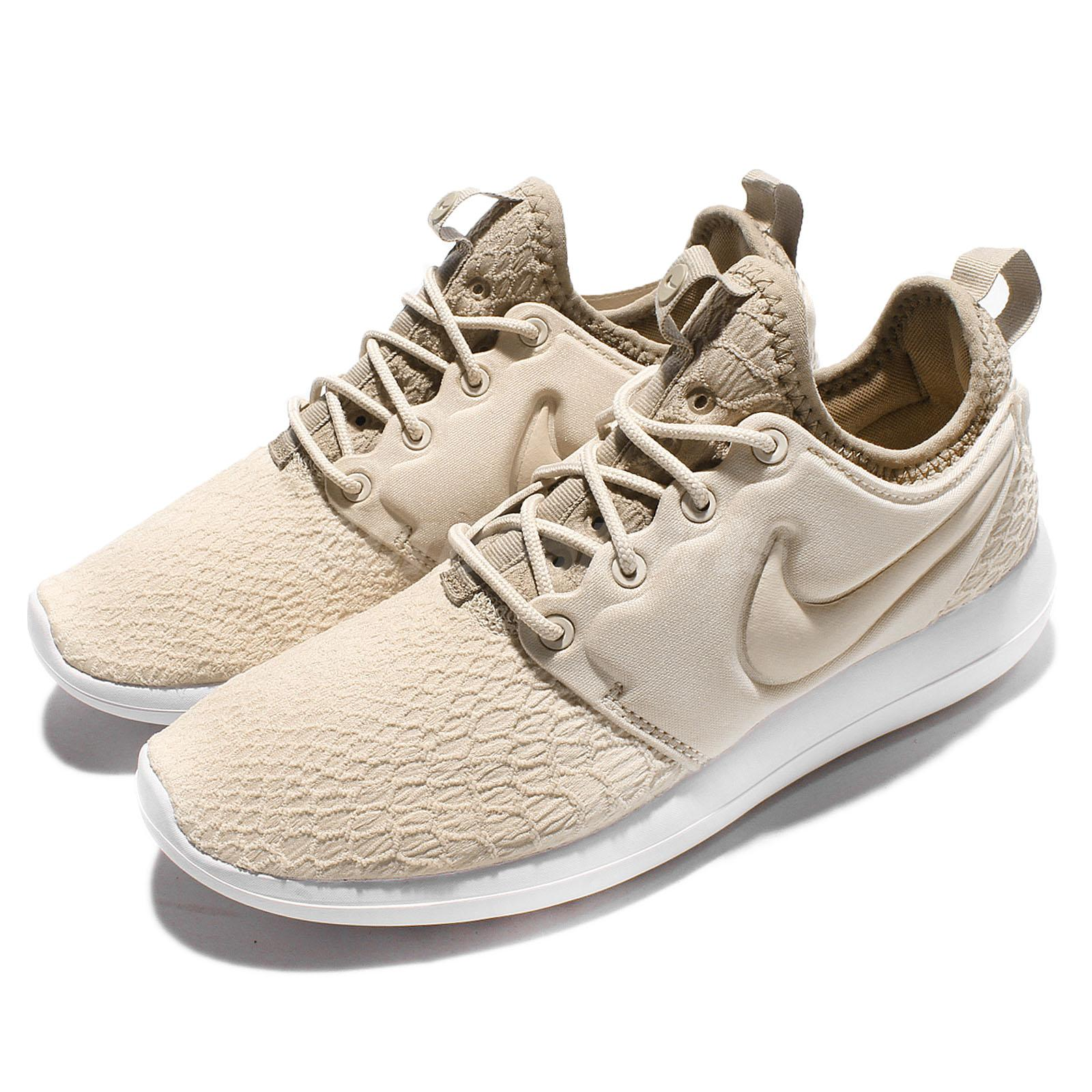 cheaper 38aff 8d0b0 Details about Nike Wmns Roshe Two SE 2 Oatmeal Women Running Shoes Rosherun  Sneaker 881188-100