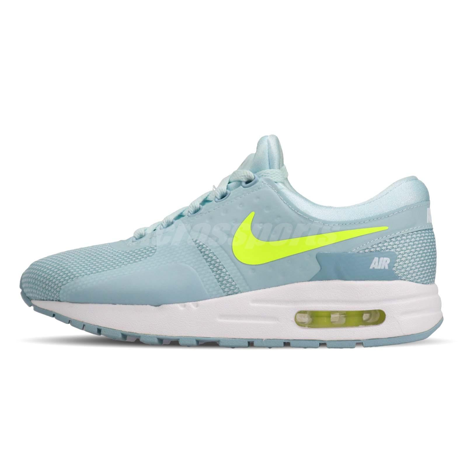 separation shoes 9a9b9 af965 Details about Nike Air Max Zero Essential GS Running Kids Youth Womens Shoes  Blue 881229-400