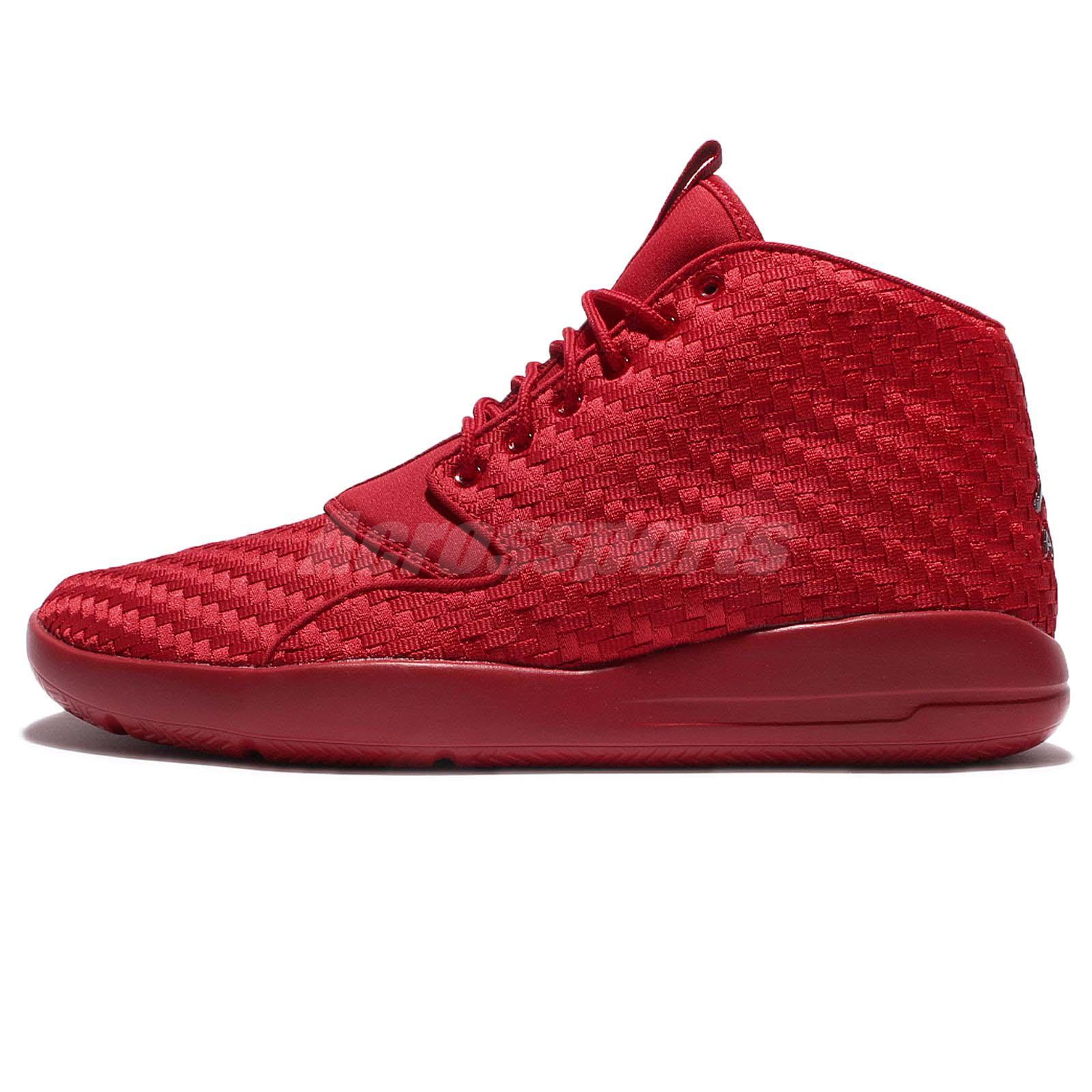 843d9de9630 ... Nike Jordan Eclipse Chukka Woven Gym Red Men Classic Shoes Sneakers  881453-601 ...