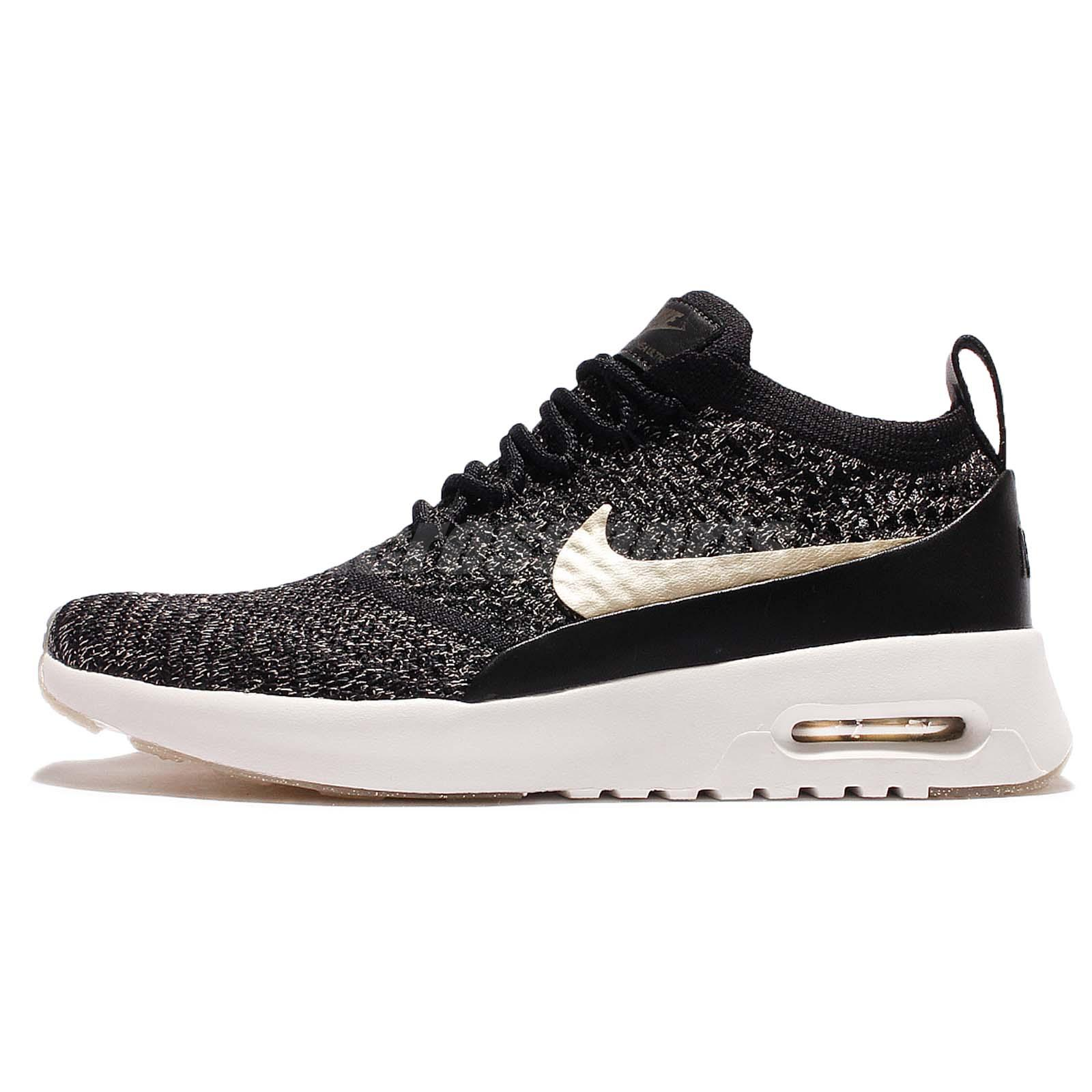 Wmns Nike Air Max Thea Ultra FK MTLC Flyknit Metallic Gold Pack Women  881564-001