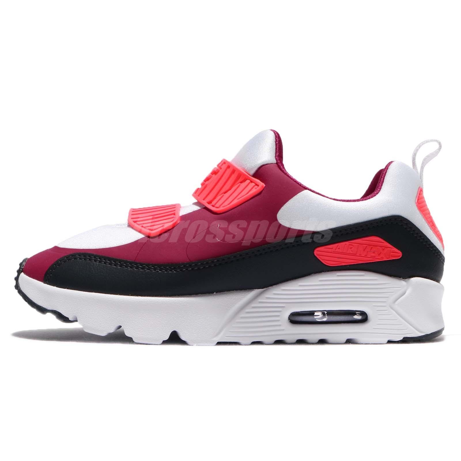 ... huge discount b36b9 60d4e Nike Air Max Tiny 90 PS Noble Red Anthracite  Preschool Kids Shoes ... 2a1ffabc90