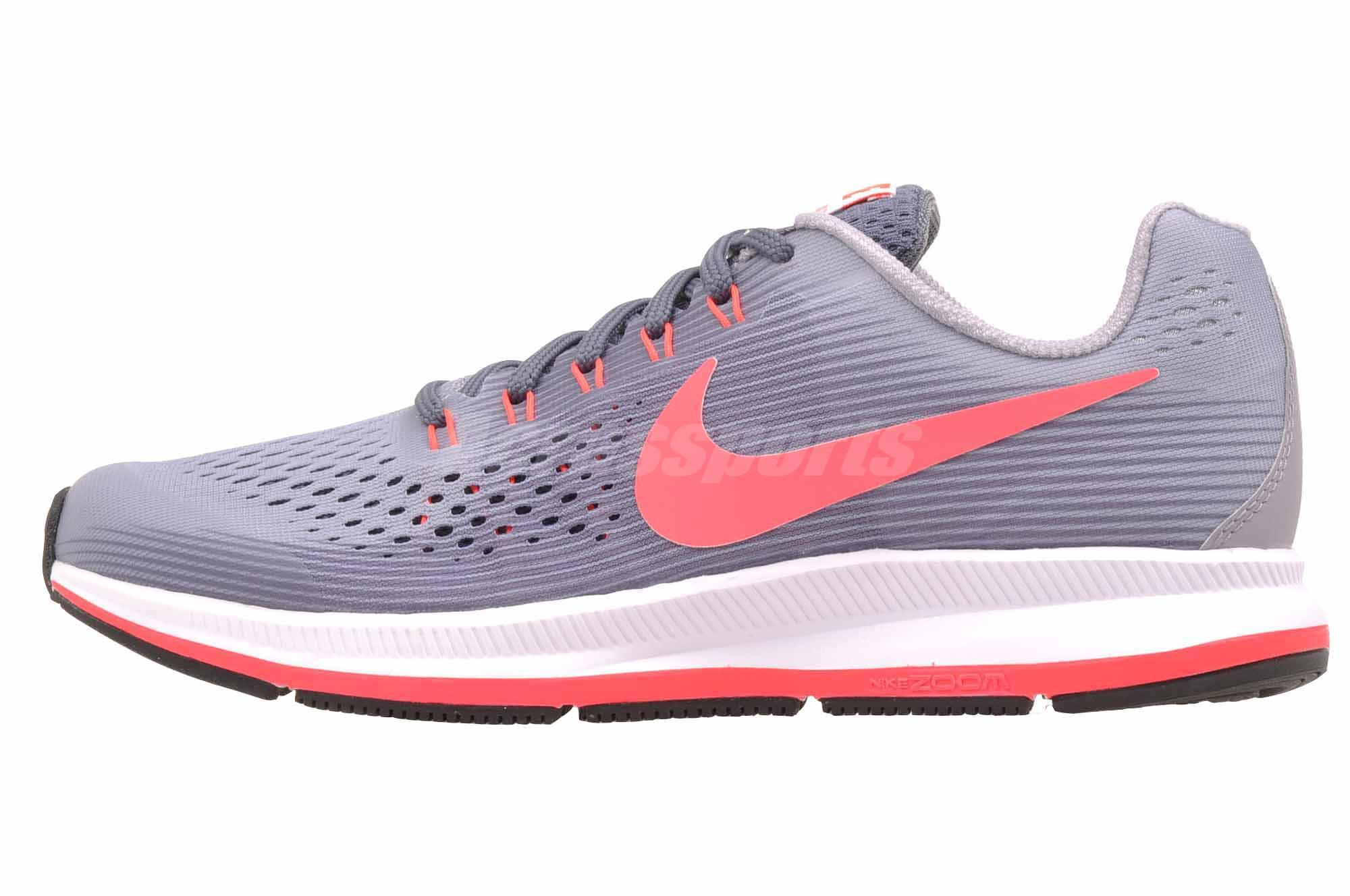 Details about Nike Zoom Pegasus 34 GS Running Kids Womens Shoes Provence  Purple 881954-501 4581e3fd2