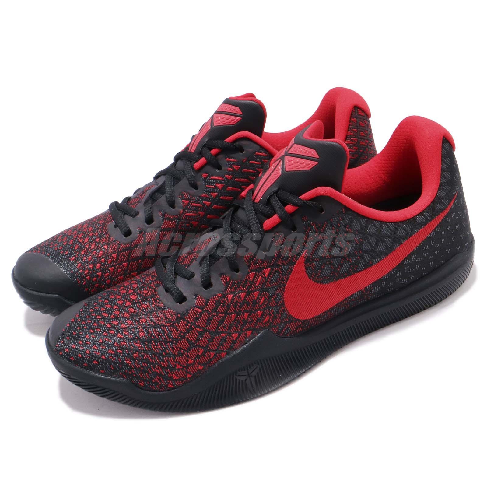 reputable site 6ff61 5b954 Details about Nike Mamba Instinct EP Kobe Bryant Black Red Men Basketball  Shoes 884445-016
