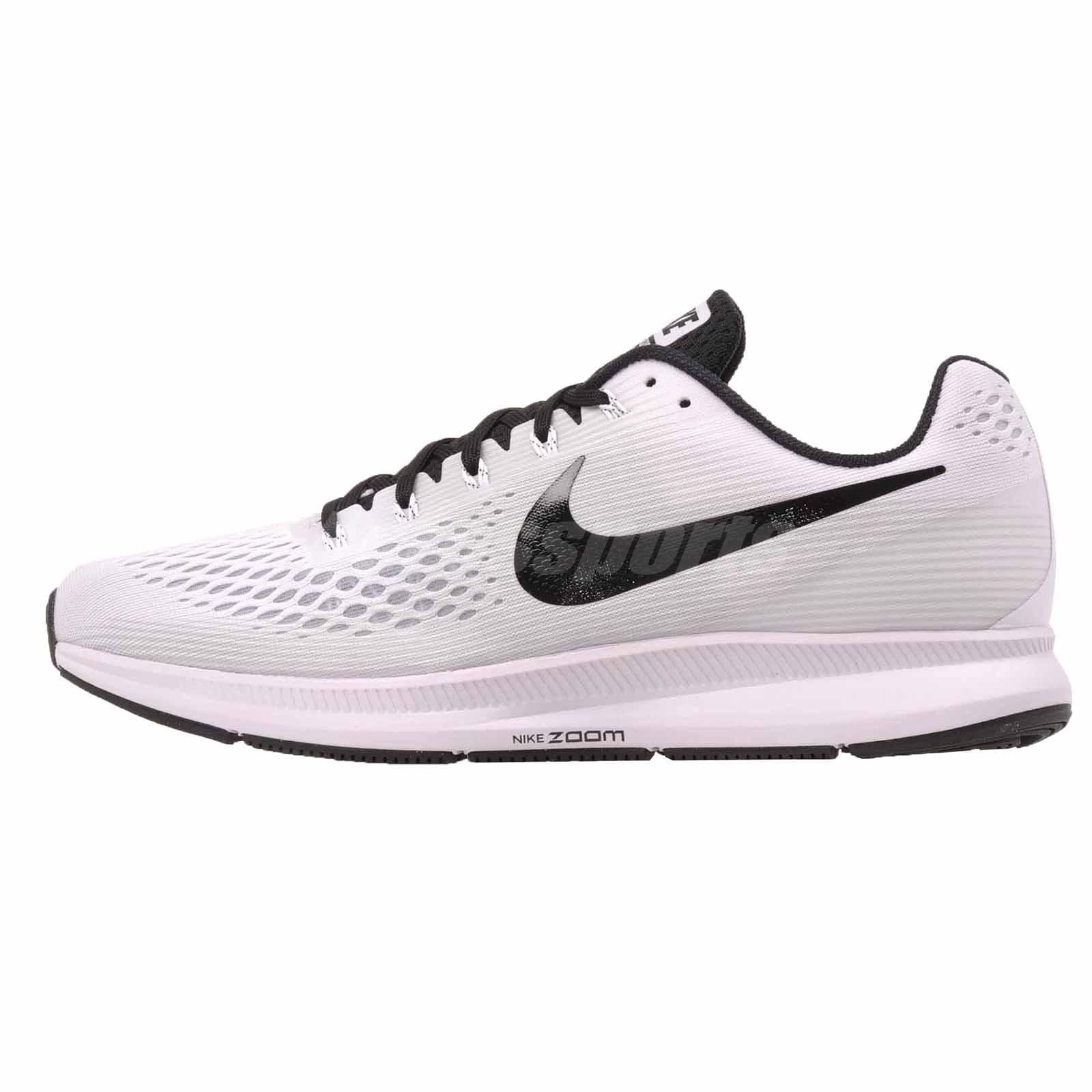 81847d297c62f Nike Air Zoom Pegasus 34 TB Running Mens Shoes White Black 887009 ...