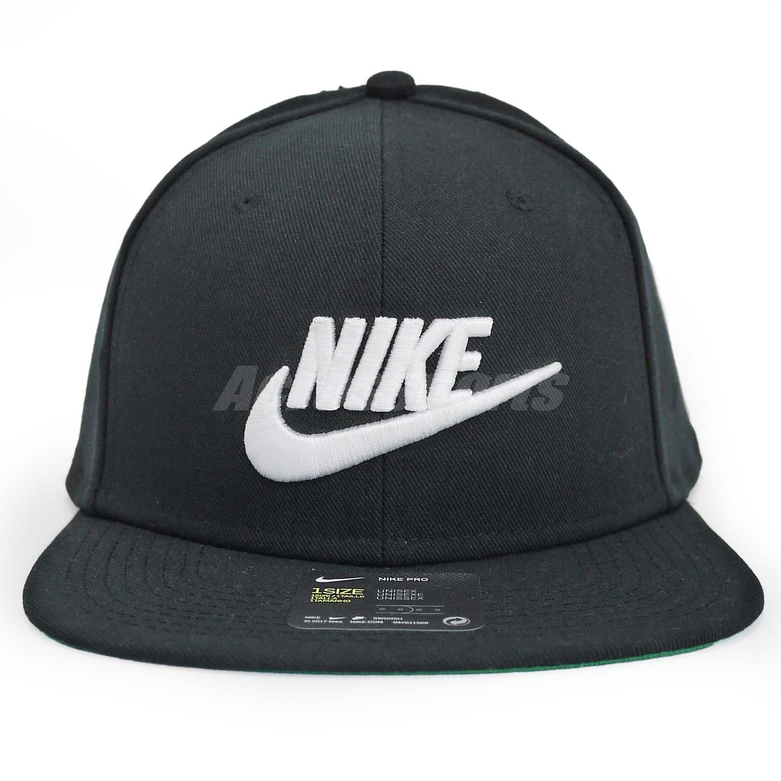 Nike Unisex NSW Pro Cap Futura Snapback Hat Sport Running Black ... d5b6dfec8279