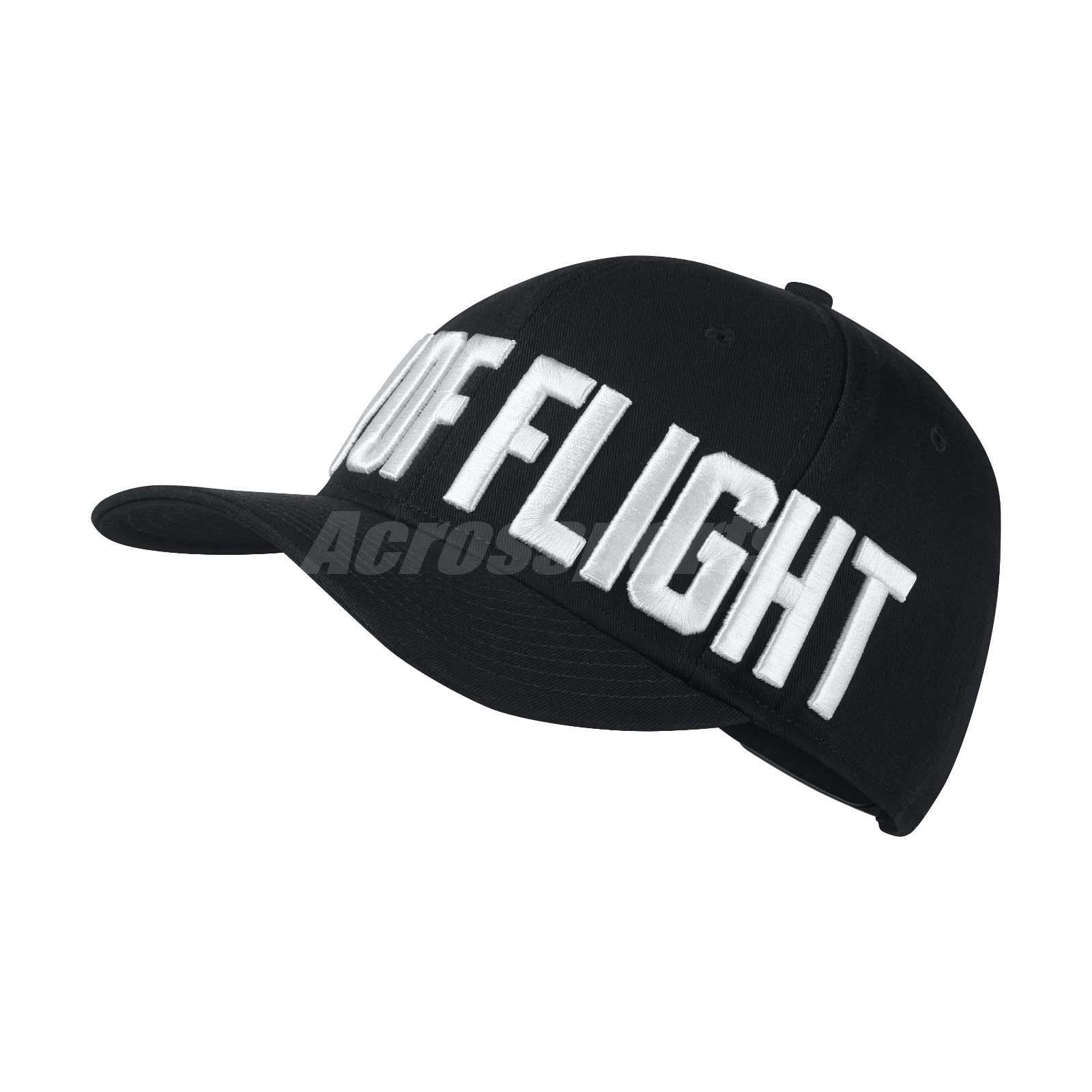 0844def5ce8 Details about Nike Unisex Air Jordan Jumpman Classic 99 City of Flight Cap  Black 894675-010