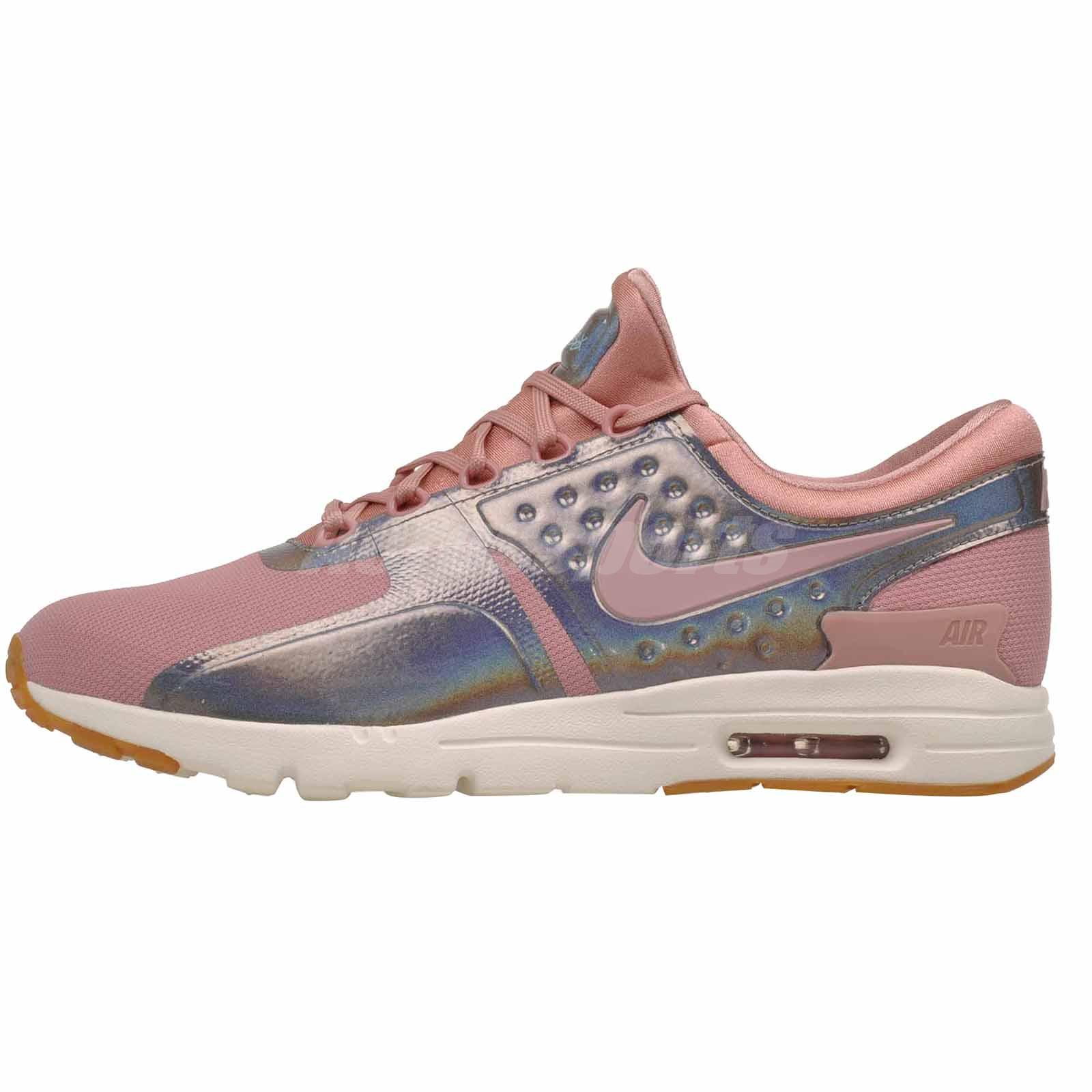 buy good timeless design exquisite design Details about Nike W Air Max Zero SE Running Womens Shoes NWOB 896199-600