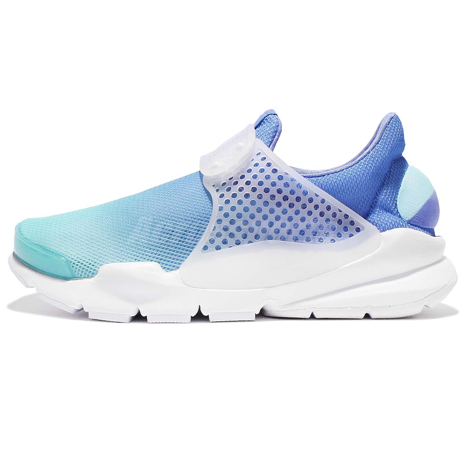 5ca053a1 Nike Wmns Sock Dart BR Breathe Gradient Blue White Women Running Shoe  896446-400