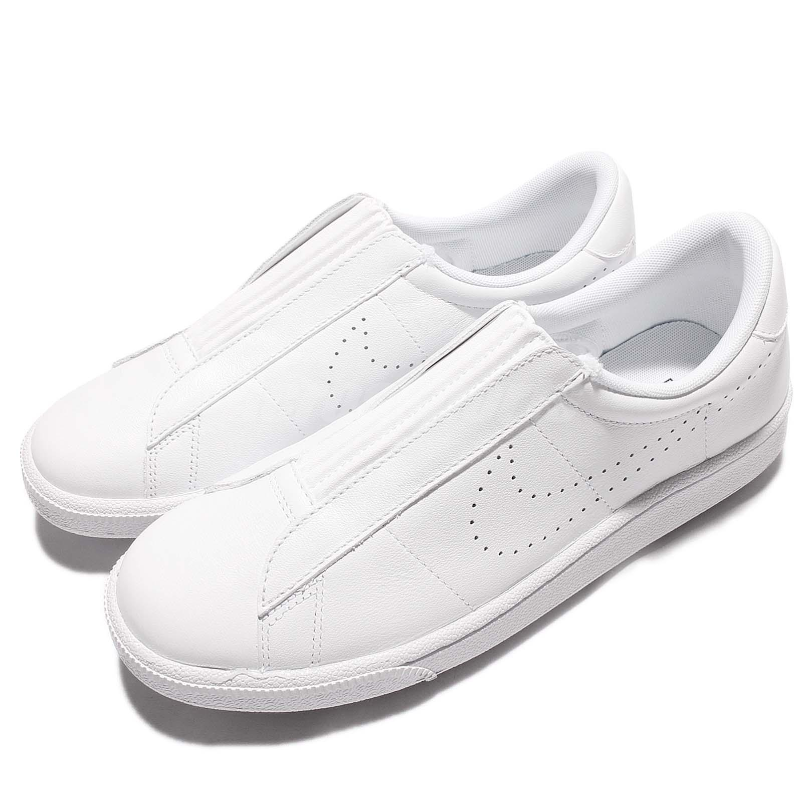 online store 27326 82404 Details about Wmns Nike Tennis Classic Ease White Women Shoes Sneakers  Slip-On 896504-100