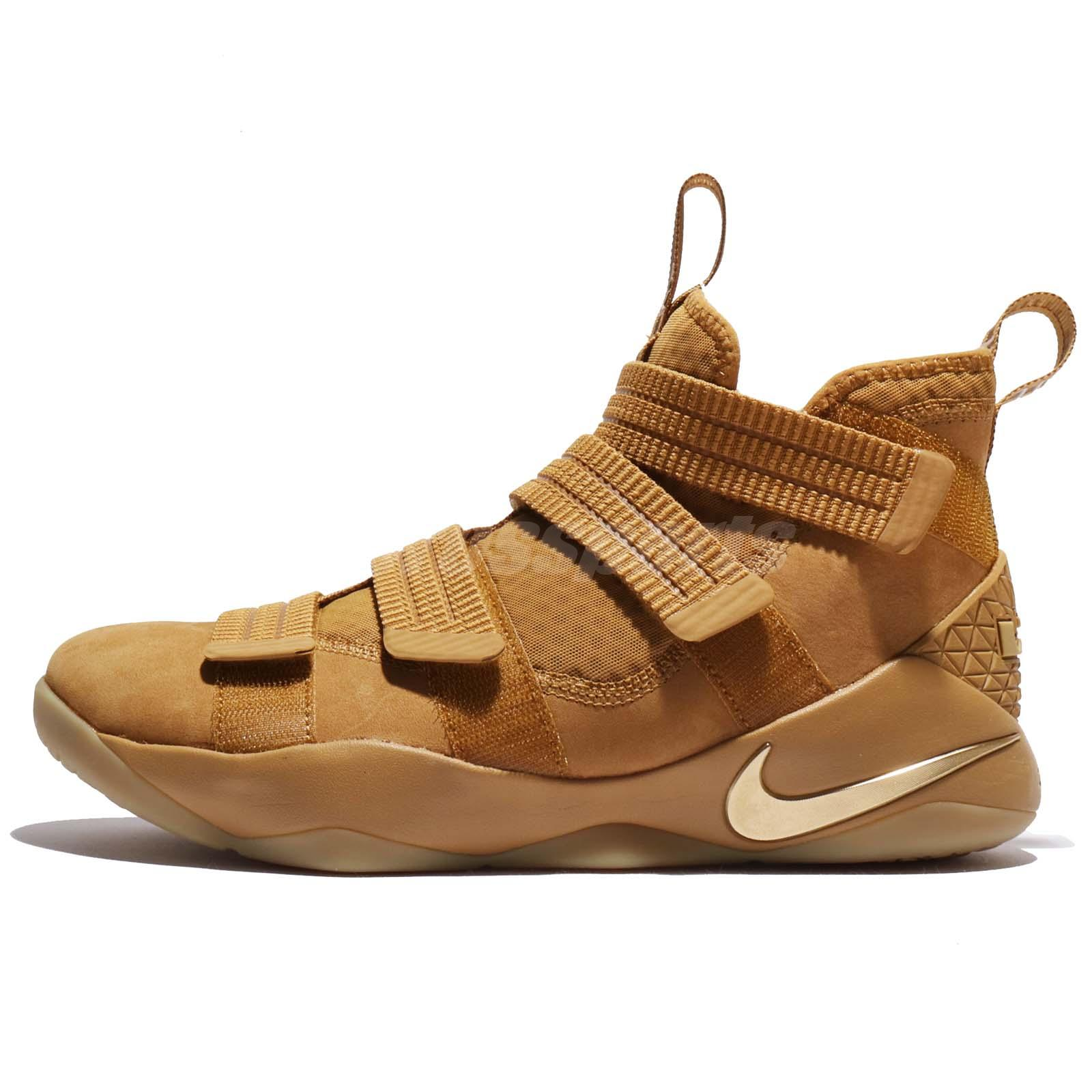 df166dcdf544c ... real nike lebron soldier xi sfg ep 11 james wheat gold men basketball  897647 700 51a97 ...