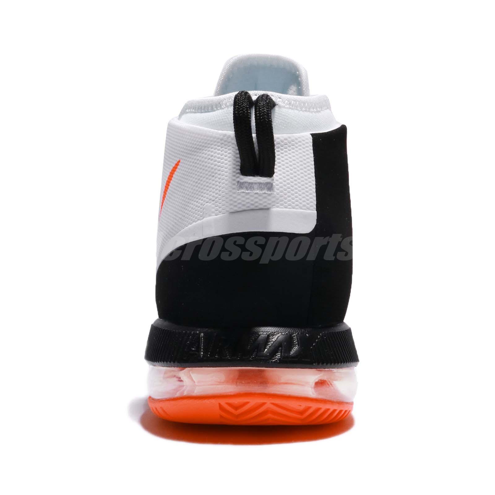 8804f30eb1 Nike Air Max Dominate EP White Crimson Black Men Basketball Shoes ...