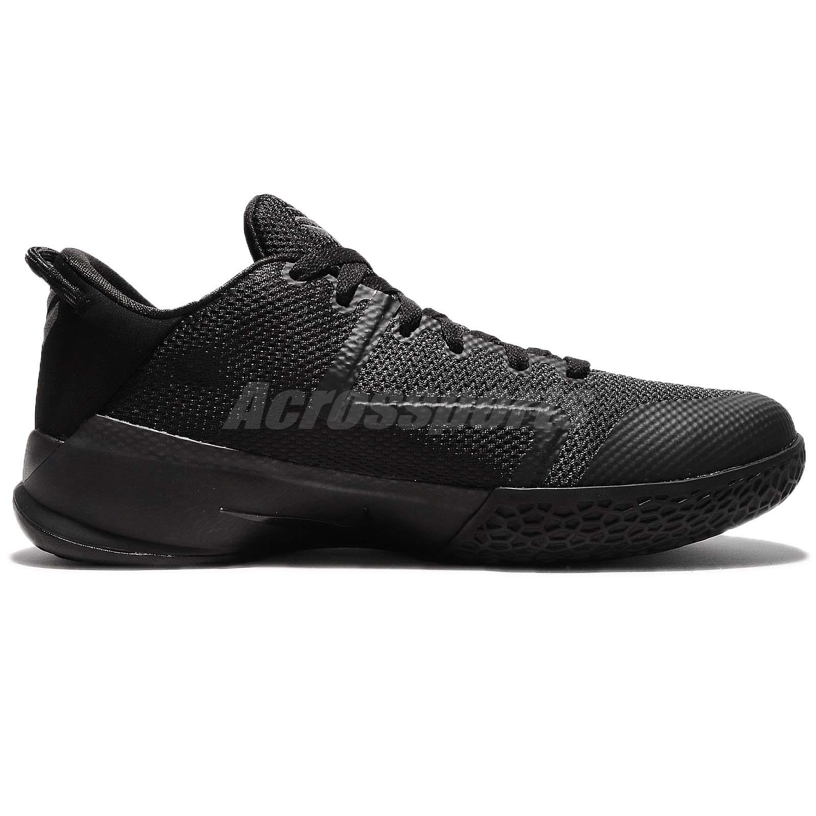 468bec9a269a Nike Zoom Kobe Venomenon 6 VI EP Bryant Triple Black Men Basketball
