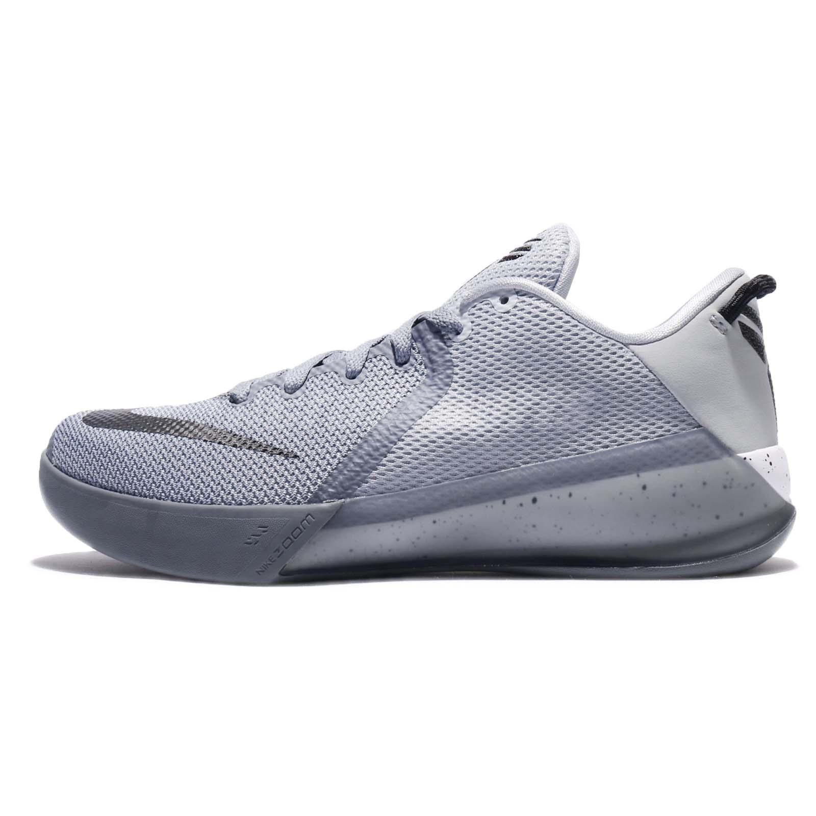 competitive price 73a86 3d556 Nike Zoom Kobe Venomenon 6 VI EP Cool Grey Black Men Basketball Shoes  897657-002 ...