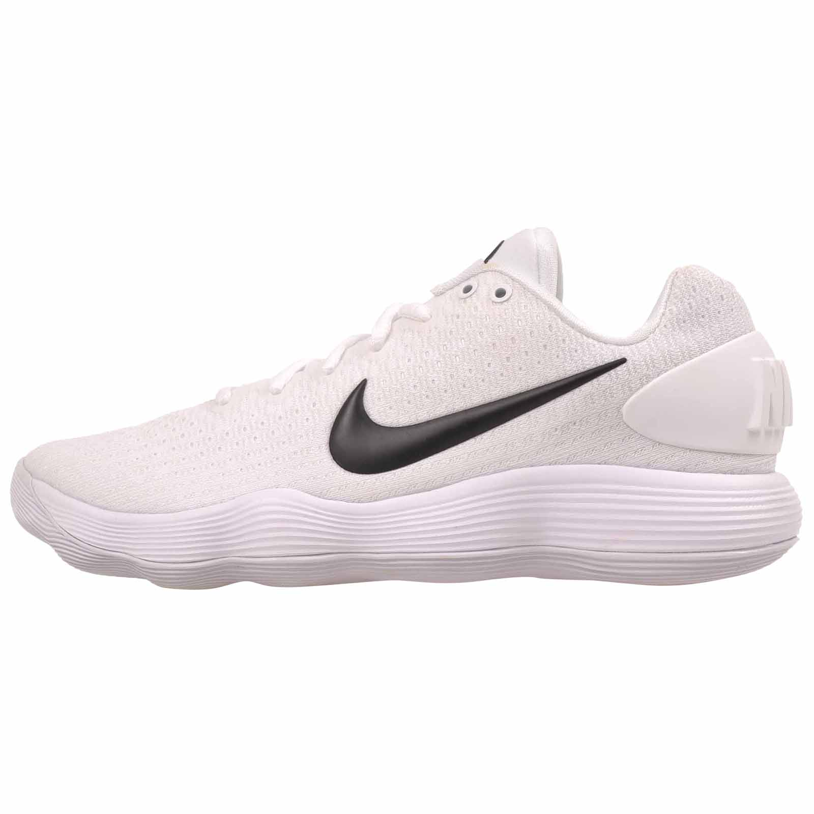 NIKE Womens Hyperdunk 2017 Low Tb 897812-100 WHITE/BLACK Womens Size 9.5