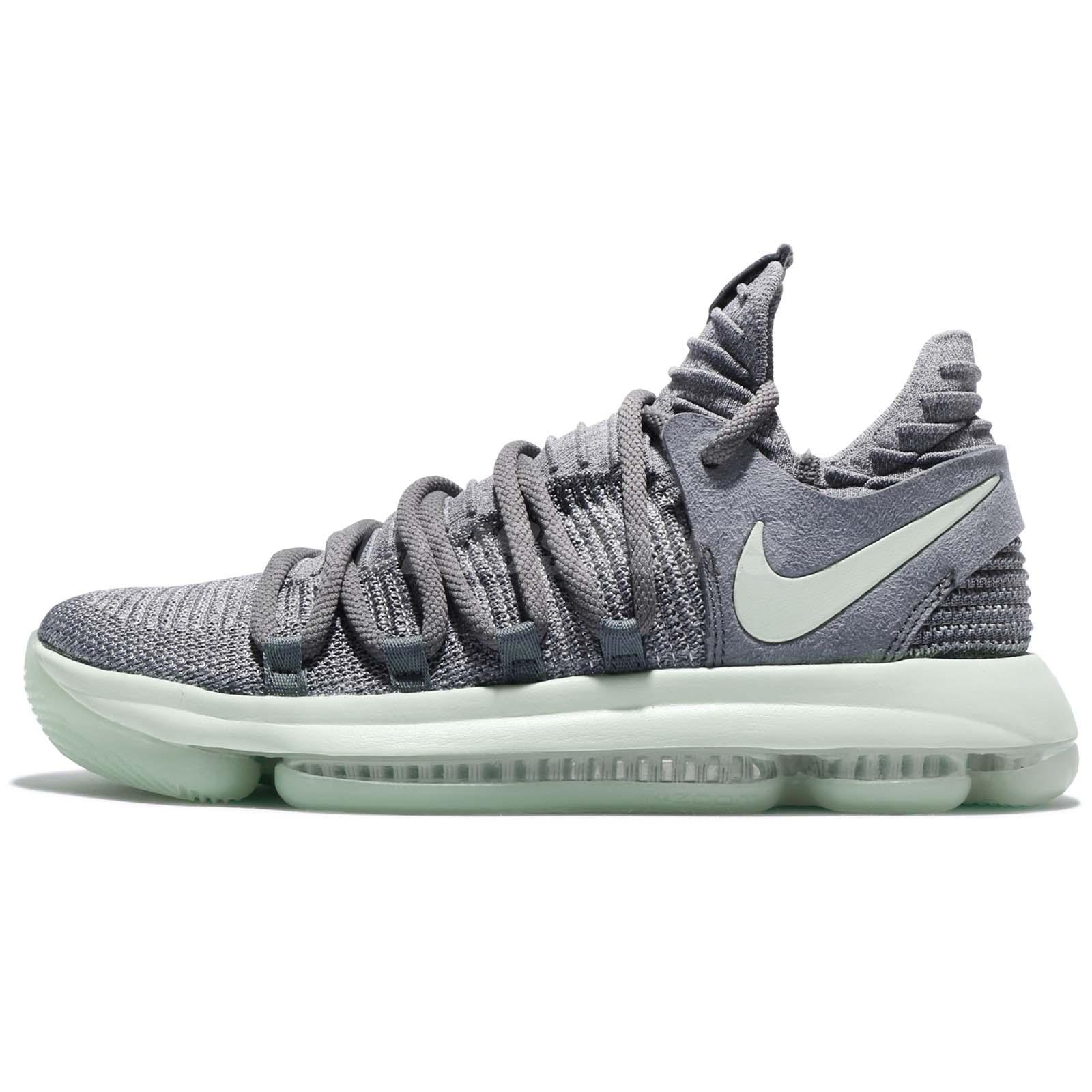 info for 84933 6b996 ... Nike Zoom KD 10 EP X Kevin Durant Cool Grey Igloo Men Basketball 897816- 002 ...