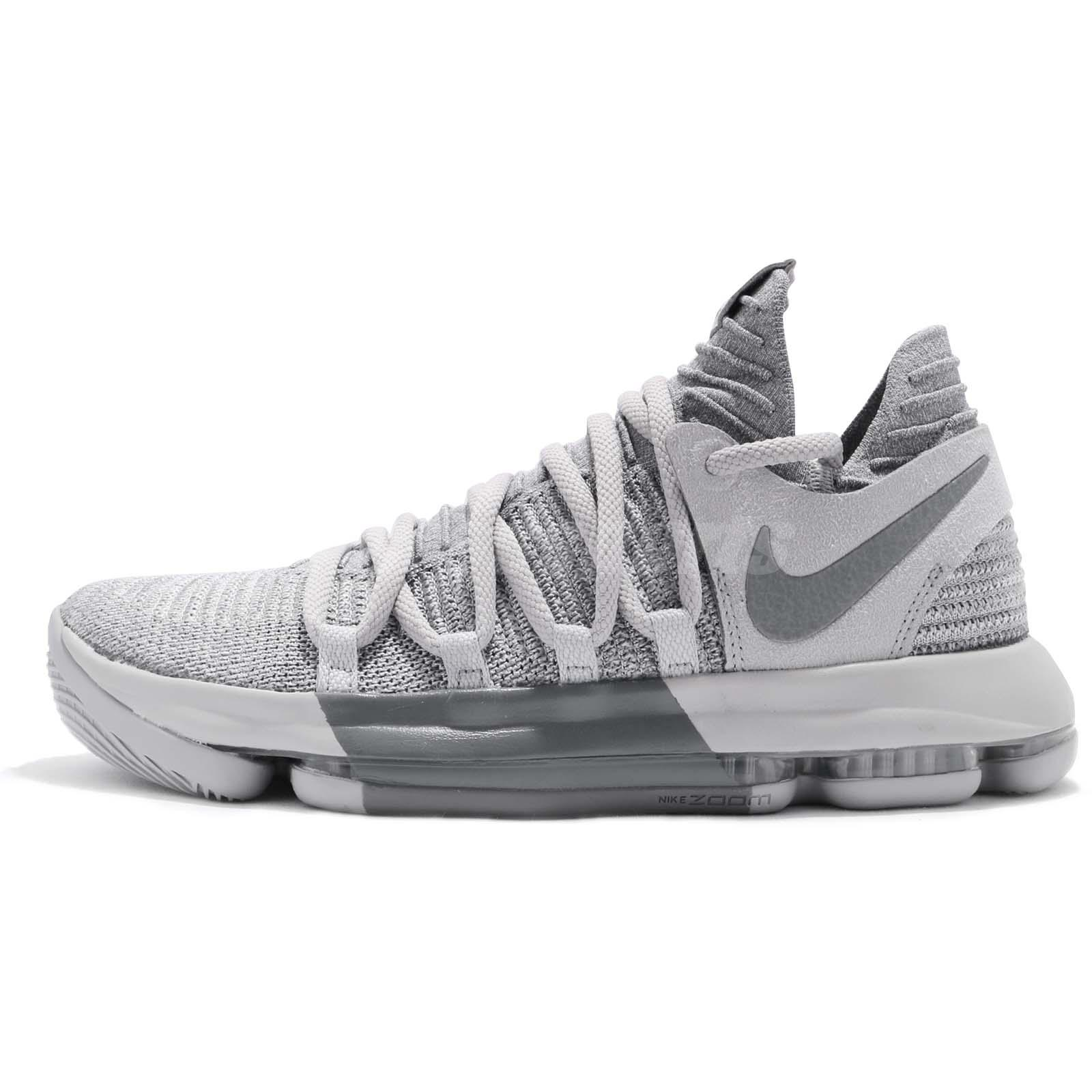 72c93d916654 store new release nike kd 10 dark grey reflective silver ff41a 83d90  new  zealand nike zoom kd10 ep x wolf grey kevin durant men basketball shoes  897816 007