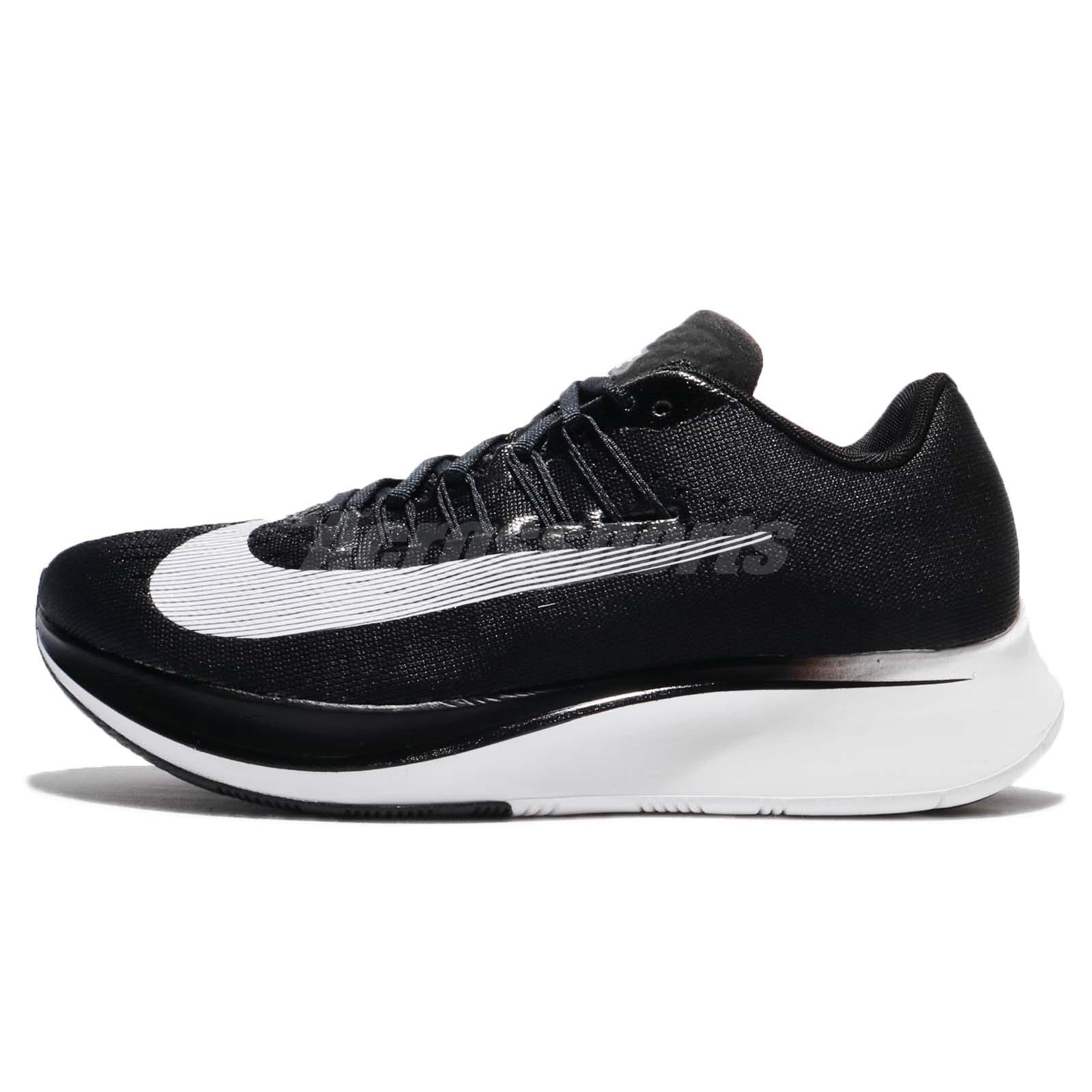 Wmns Nike Zoom Fly Black White Women Running Shoes Sneakers Trainers 897821001