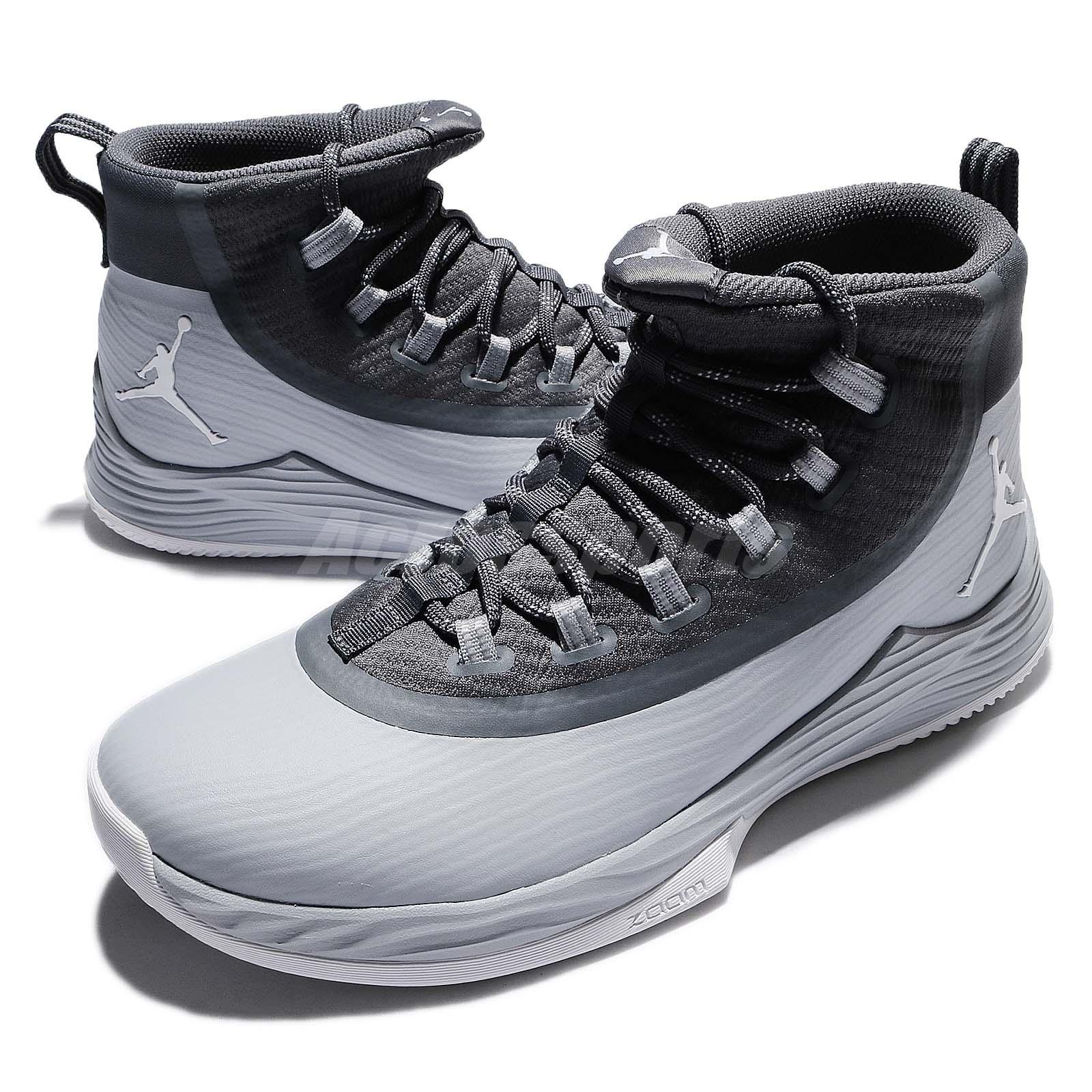 the best attitude 130dc ed644 Nike Jordan Ultra Fly 2 II Wolf Dark Grey Men Basketball Sho