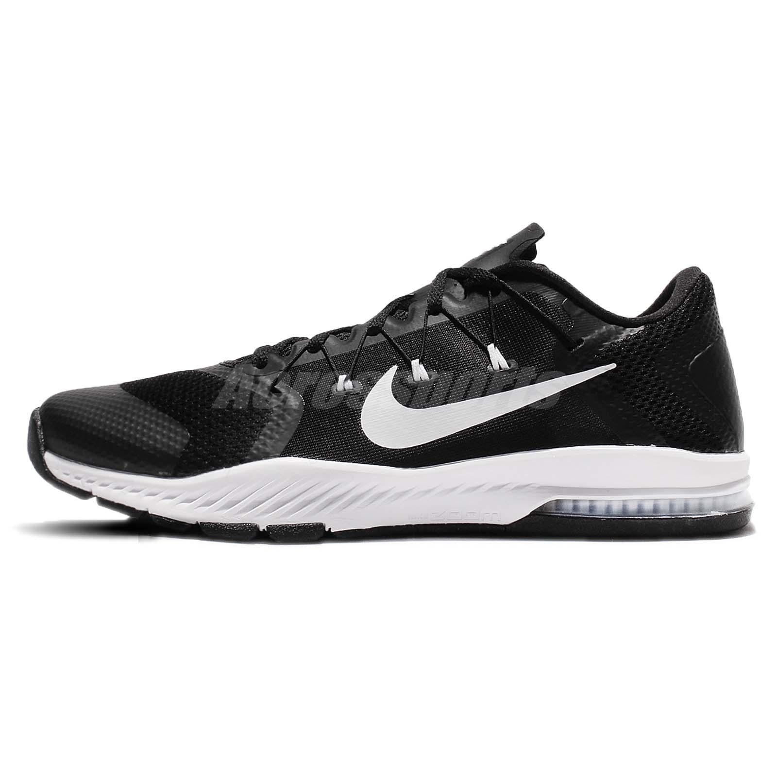 613bea53f004f Nike Zoom Train Complete TB Black White Cross Training Shoes Trainers  898056-002