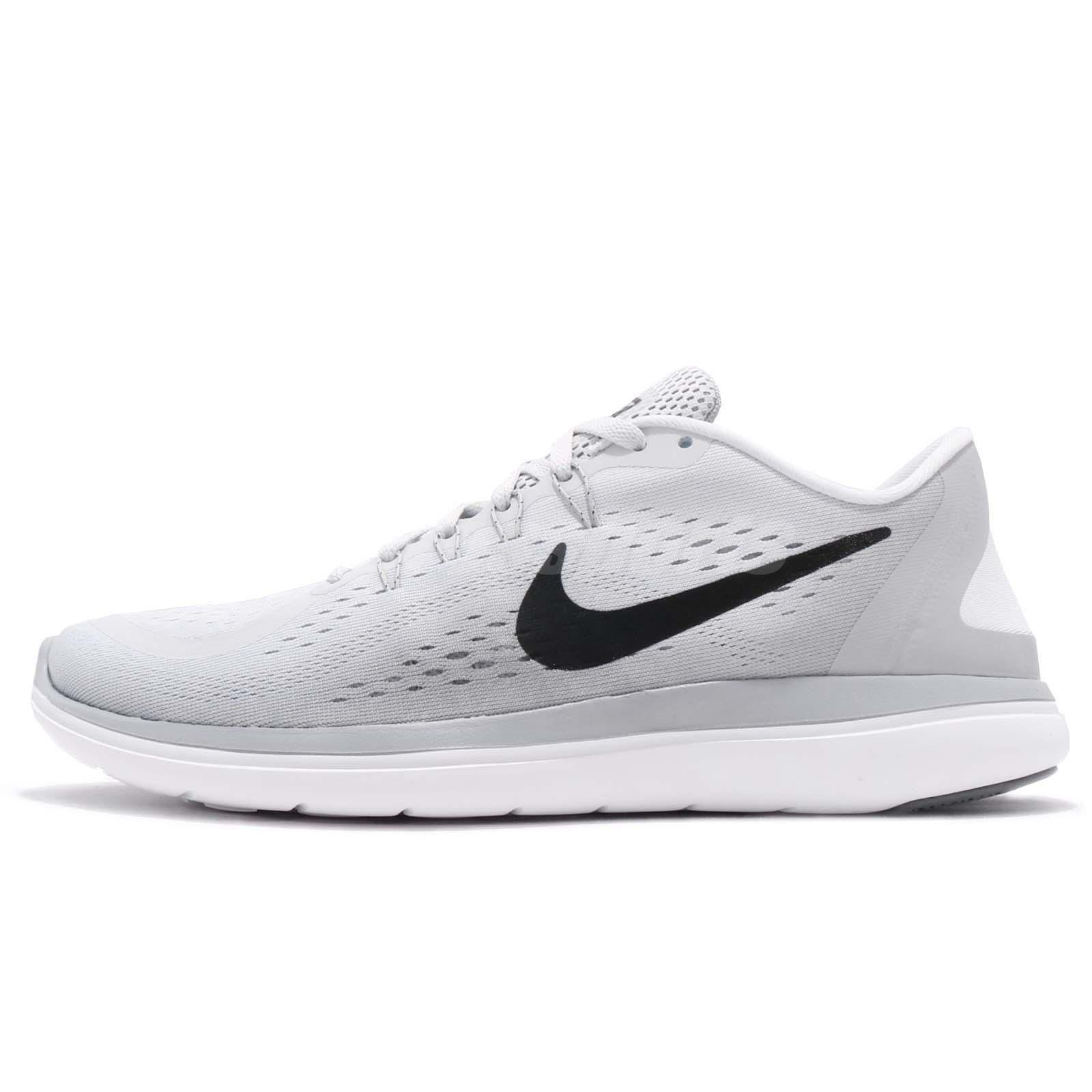 a7dd6b3350b7b Nike Flex 2017 RN Running Pure Platinum Wolf Grey Men Running Shoes  898457-002