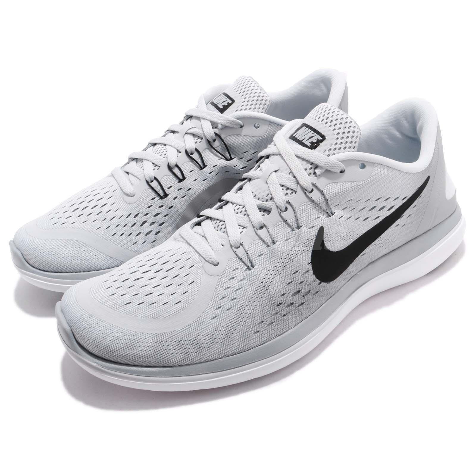0623d55e3bf9 Details about Nike Flex 2017 RN Running Pure Platinum Wolf Grey Men Running  Shoes 898457-002