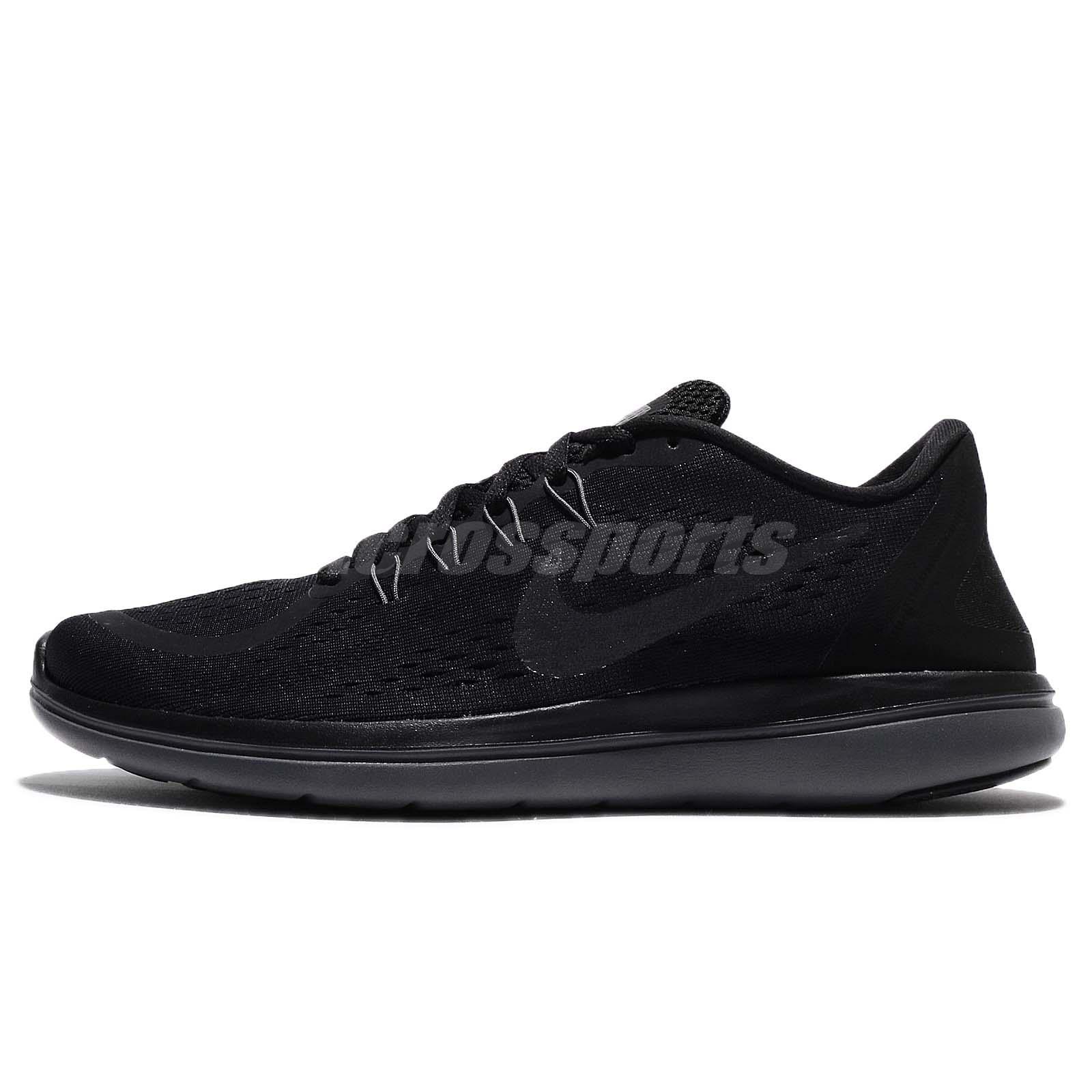 9ff8ce842a1c Nike Flex 2017 RN Run Black Men Running Shoes Sneakers 898457-005